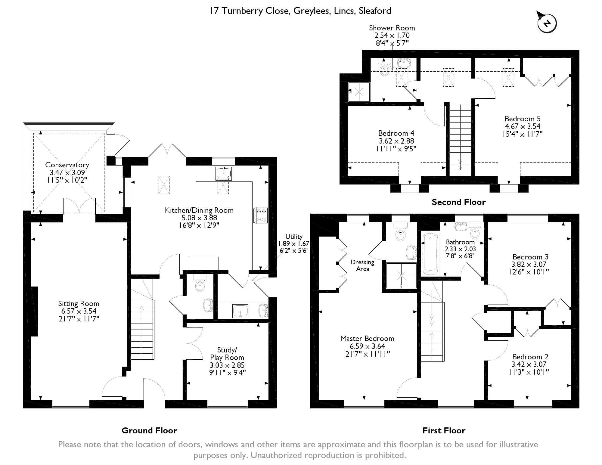 Turnberry Close, Sleaford, NG34 floor plan