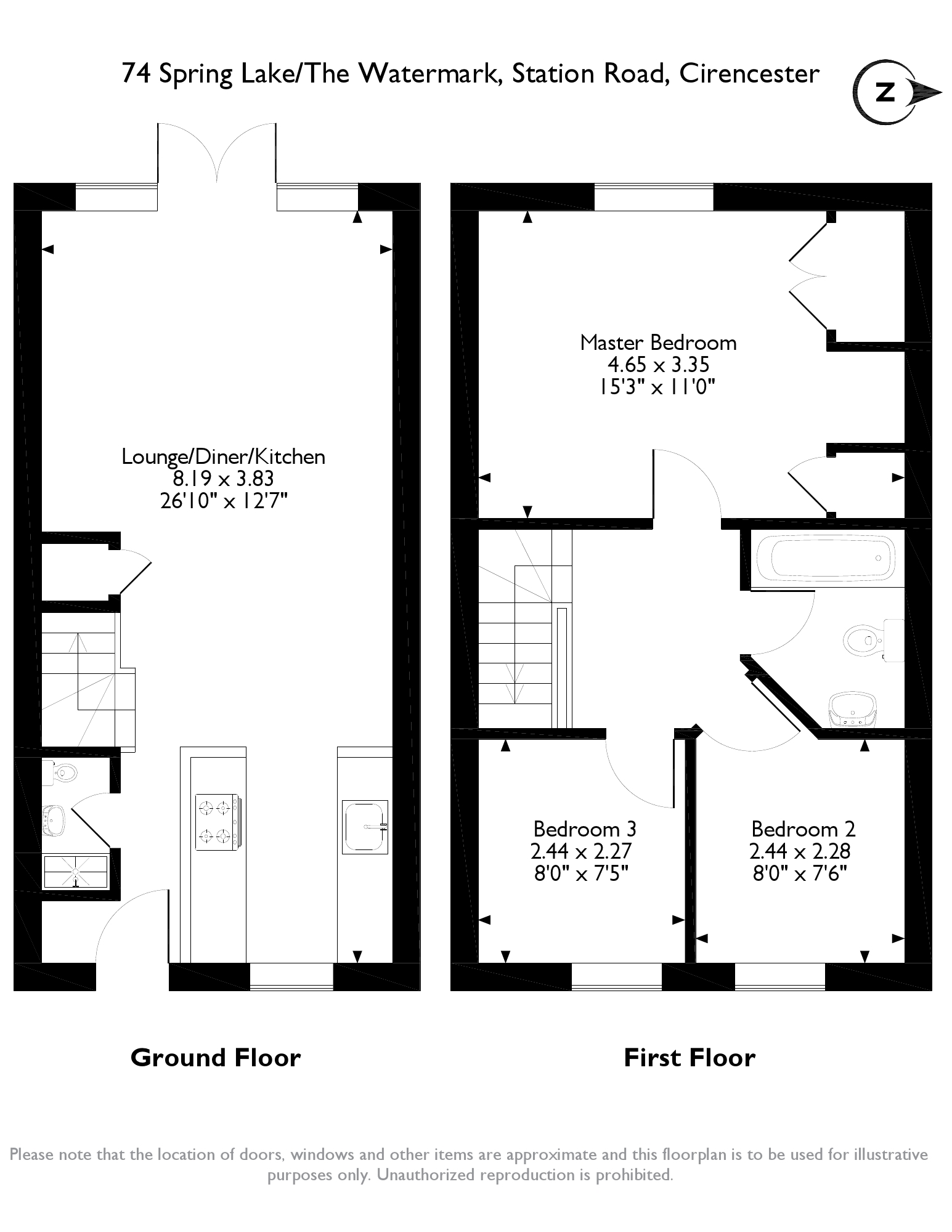 The Watermark, Station Road, Cirencester, GL7 floor plan