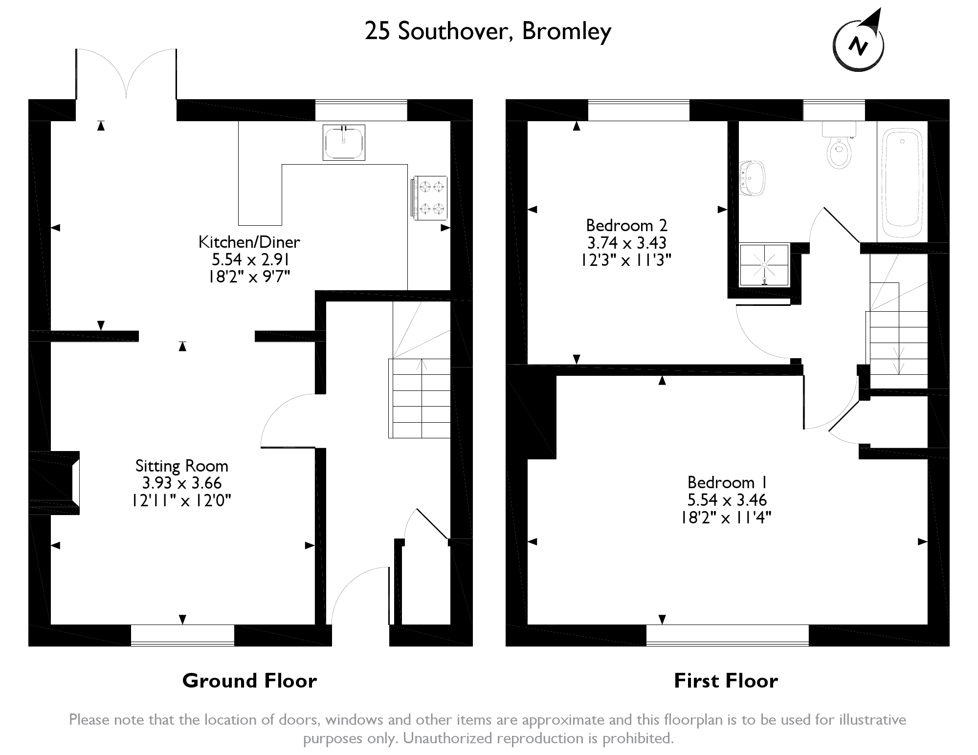 Southover, Bromley, Kent, BR1 floor plan
