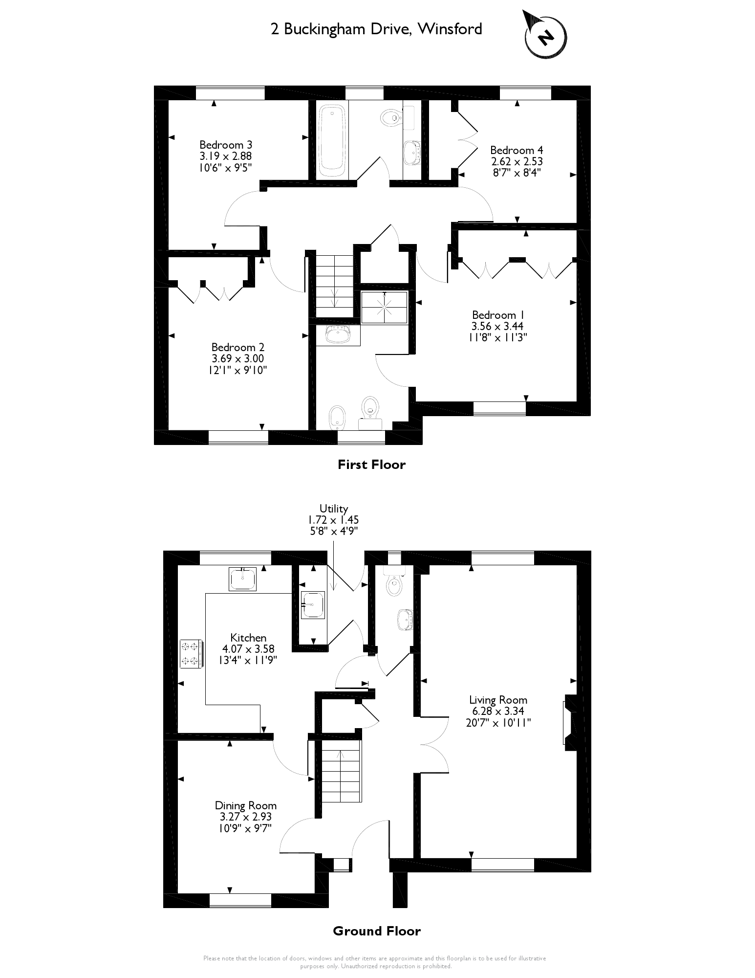 Buckingham Drive, Winsford, Cheshire, CW7 floor plan