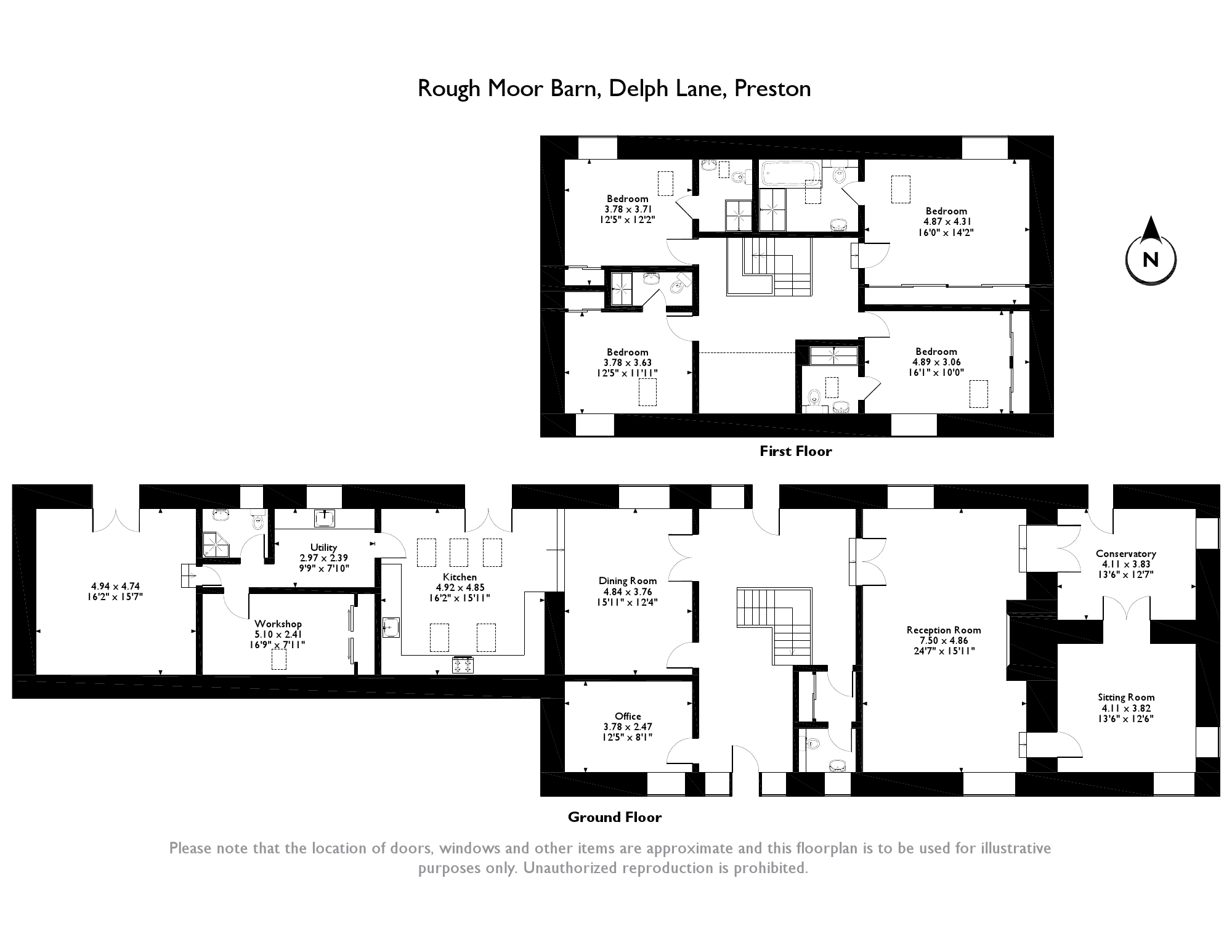 Delph Lane, Garstang, PR3 floor plan