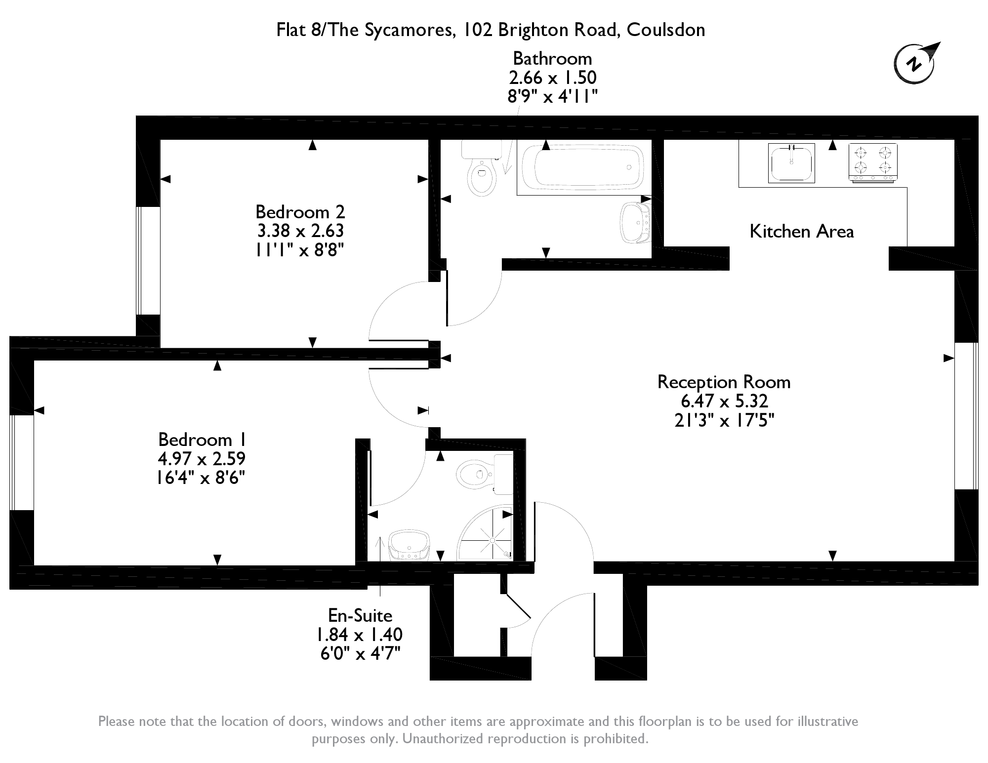 Brighton Road. Coulsdon, CR5 floor plan