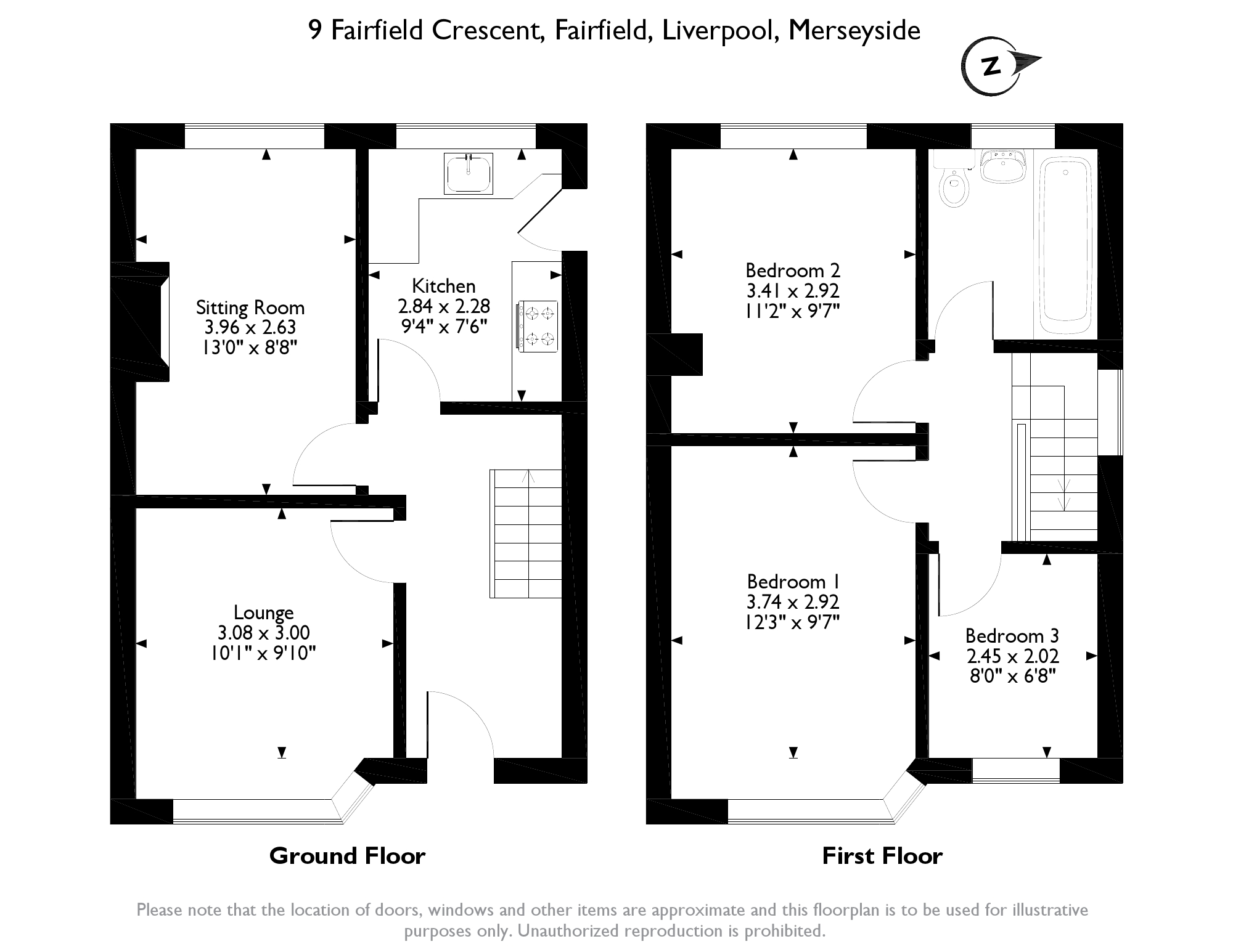 Fairfield Crescent, Liverpool L6 floor plan