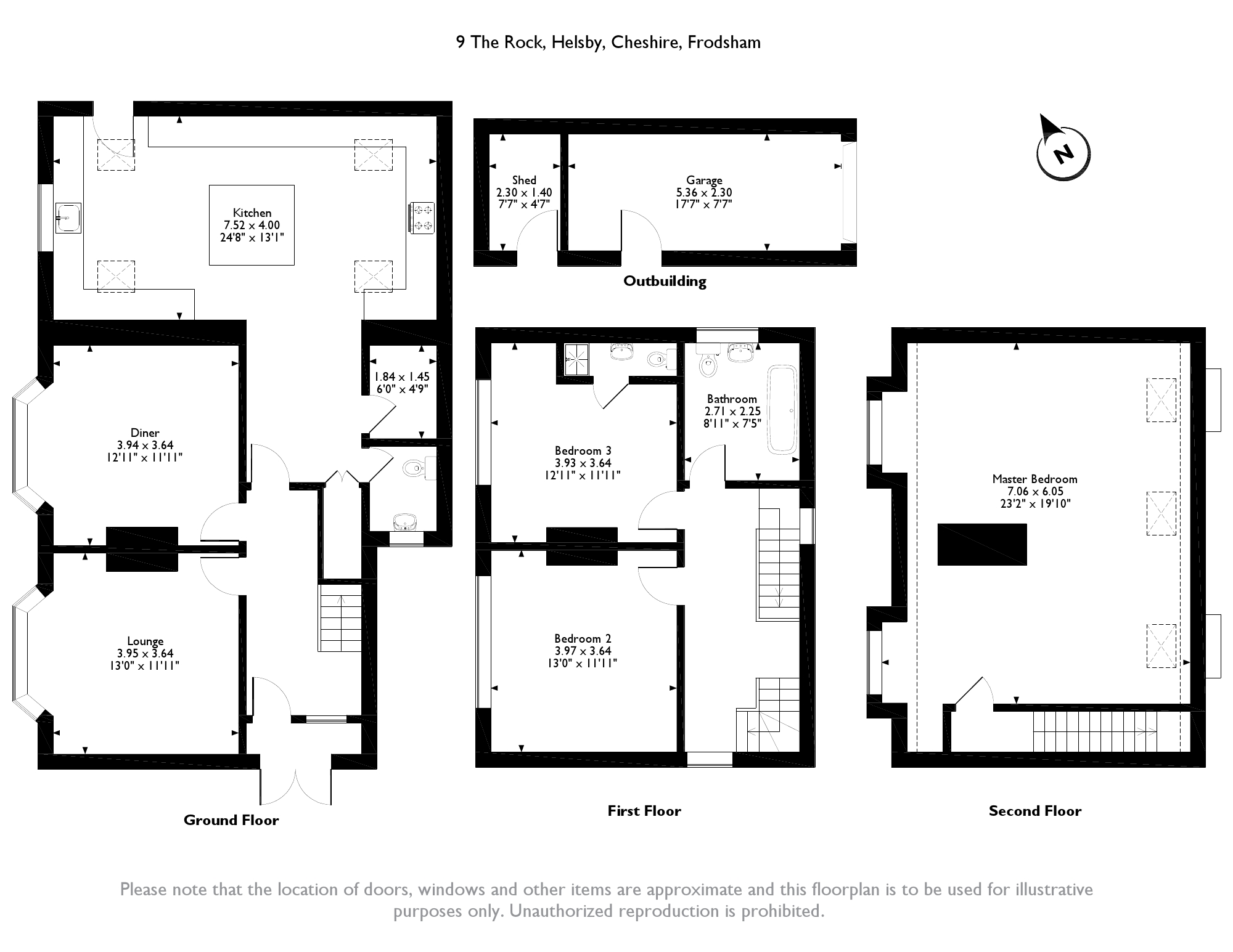 Frodsham, Cheshire, WA6 floor plan
