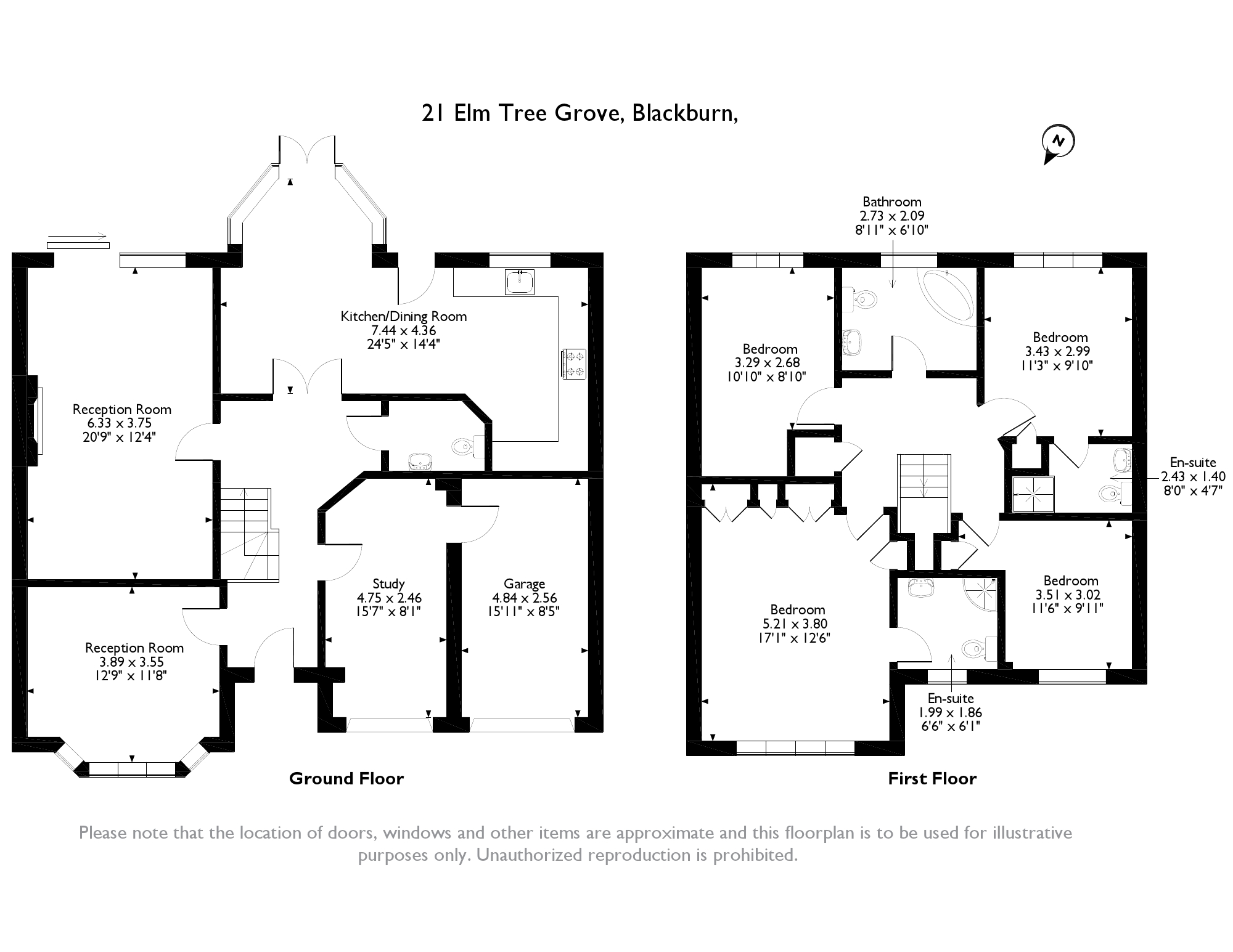 Elm Tree Grove, Blackburn, BB6 floor plan