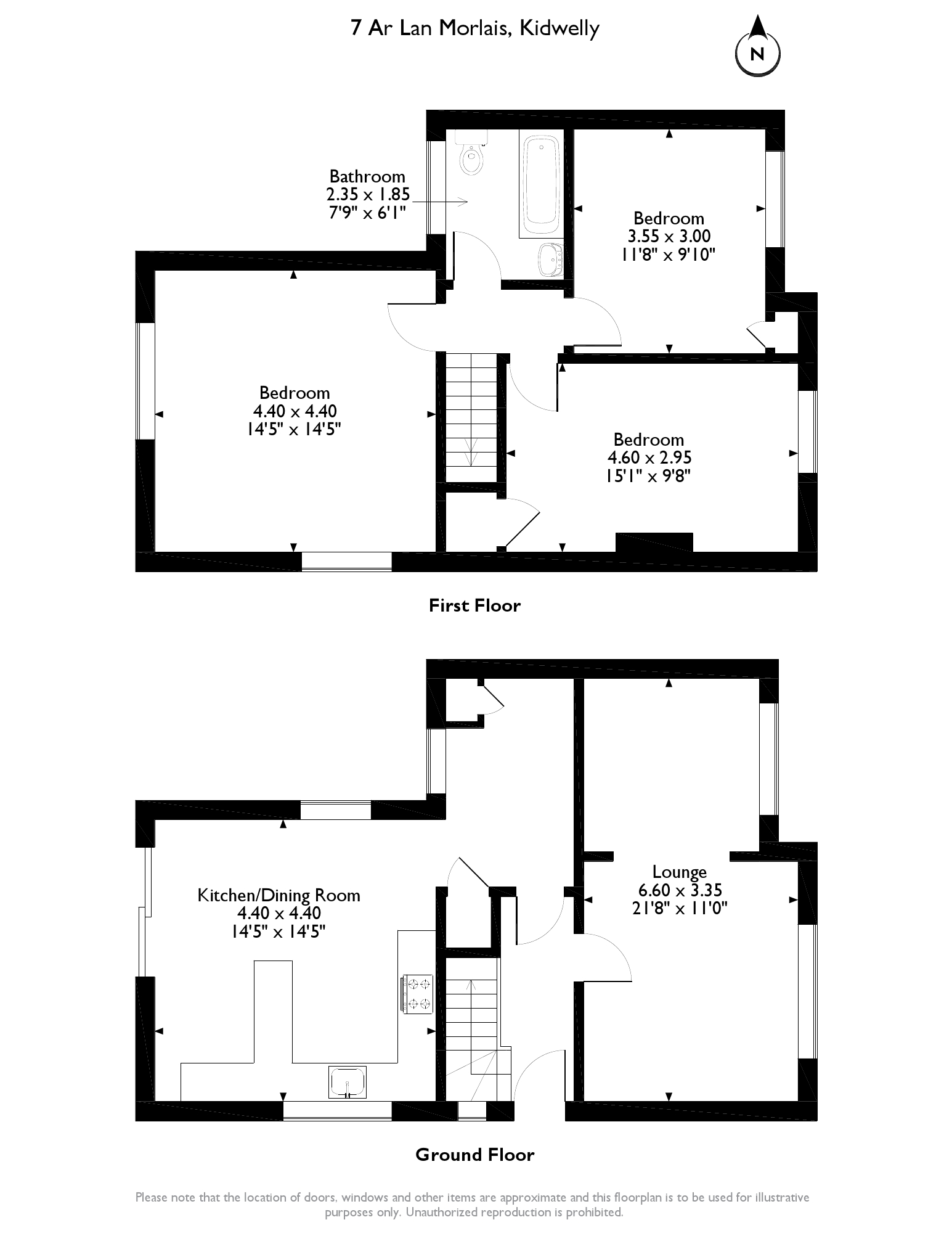 Trimsaran, Kidwelly, SA17 floor plan