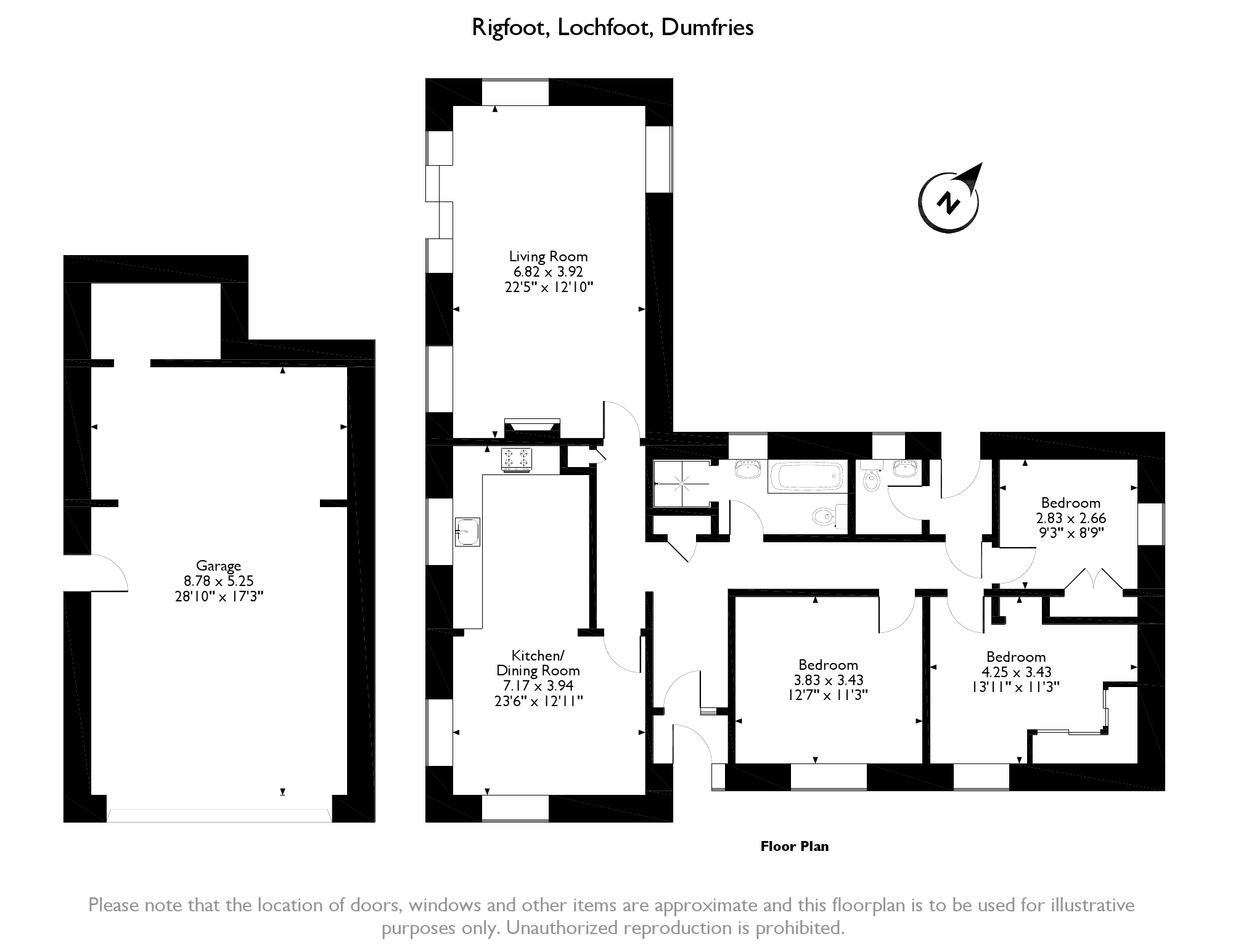 Lochfoot,  Dumfries, DG2 floor plan