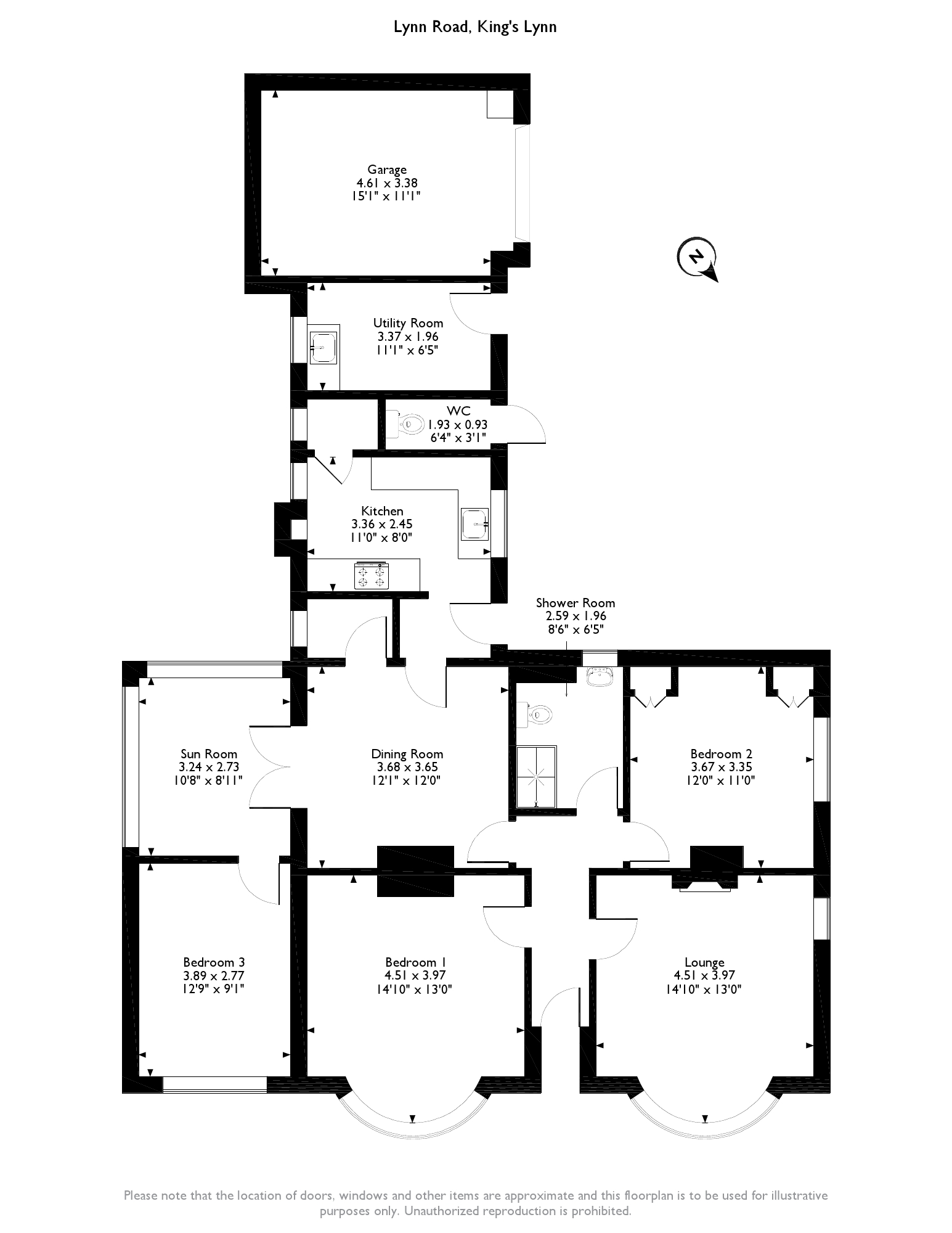 Lynn Road,  King's Lynn, PE32 floor plan