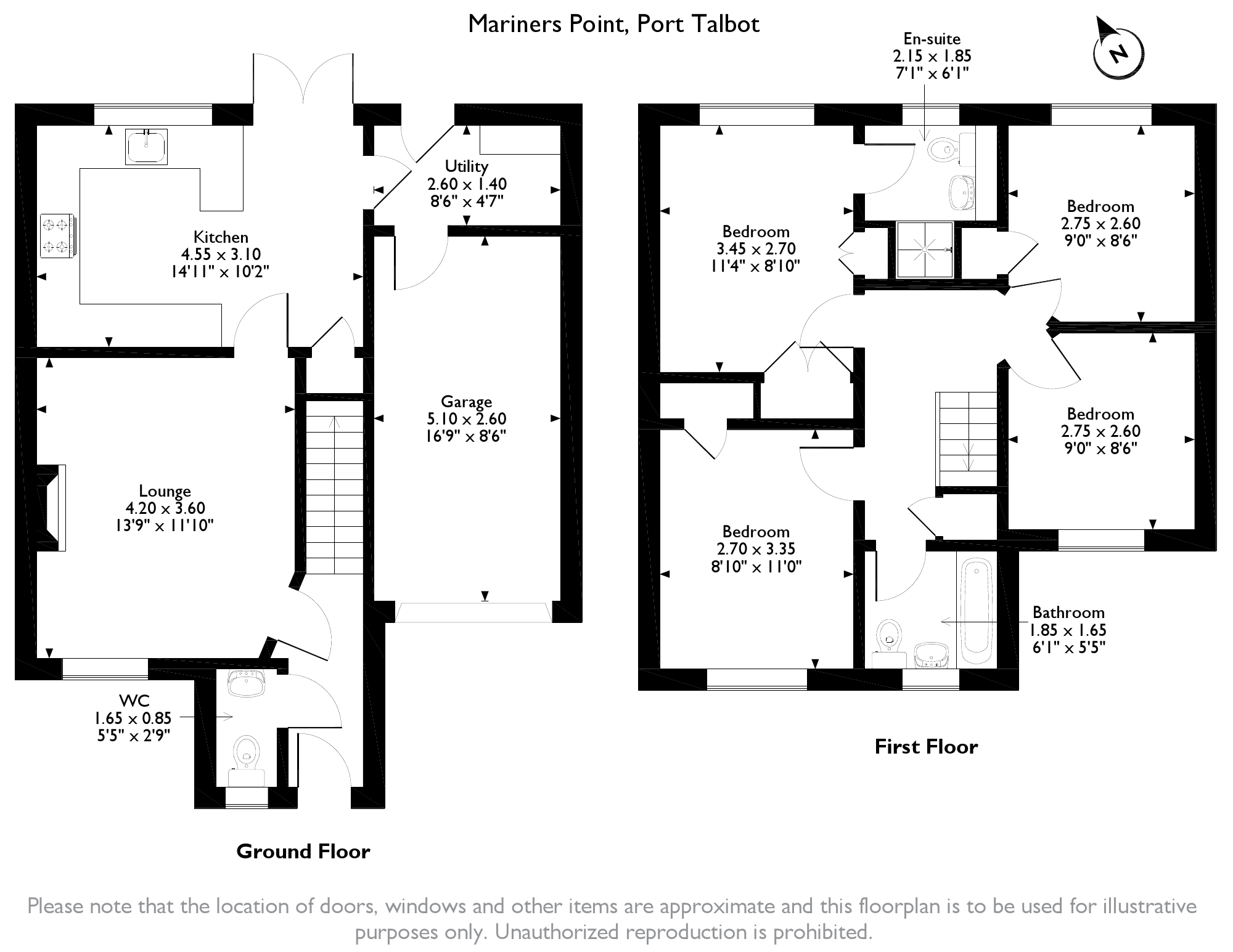 Mariners Point, Port Talbot, SA12 floor plan
