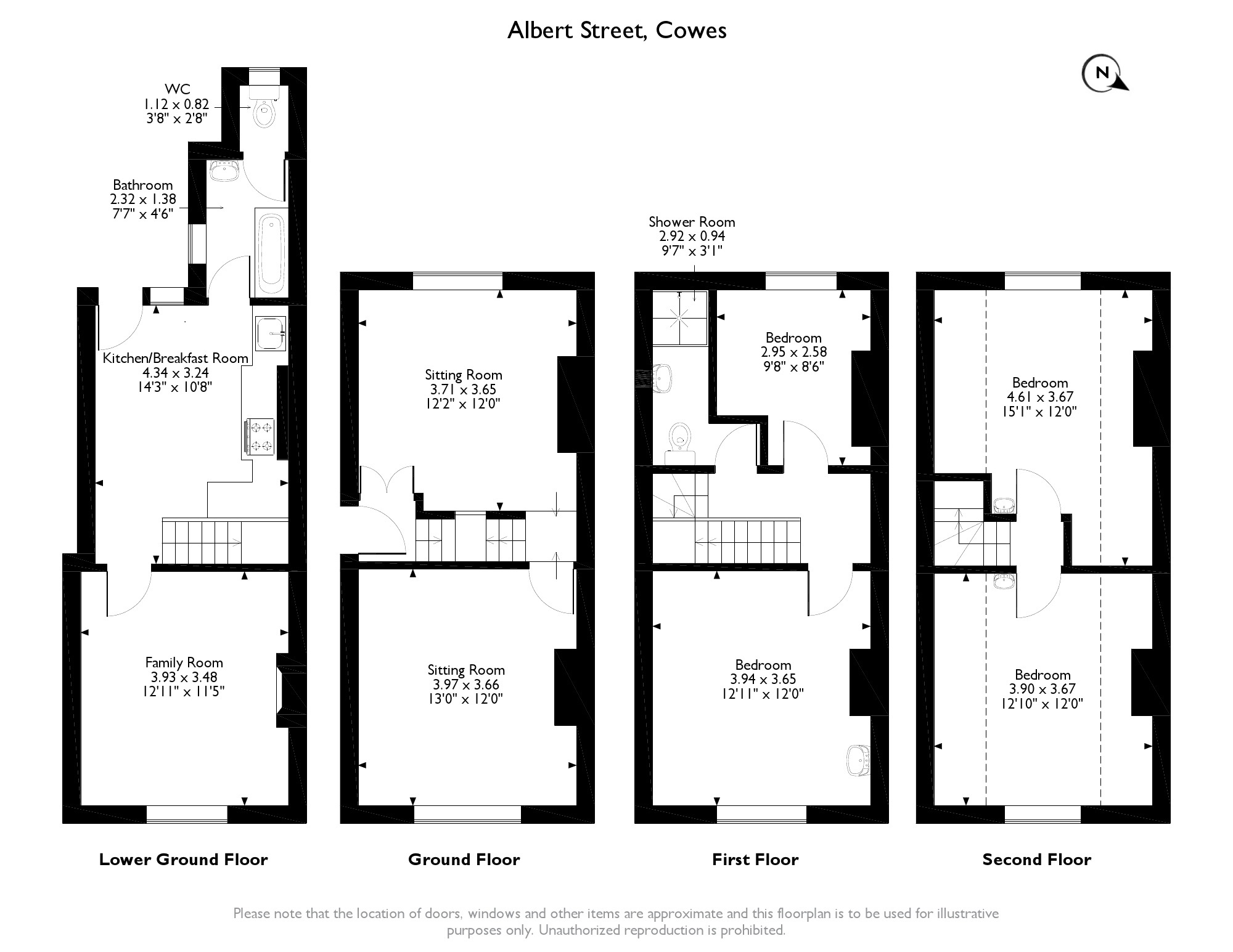 Albert Street,  Cowes, PO31 floor plan