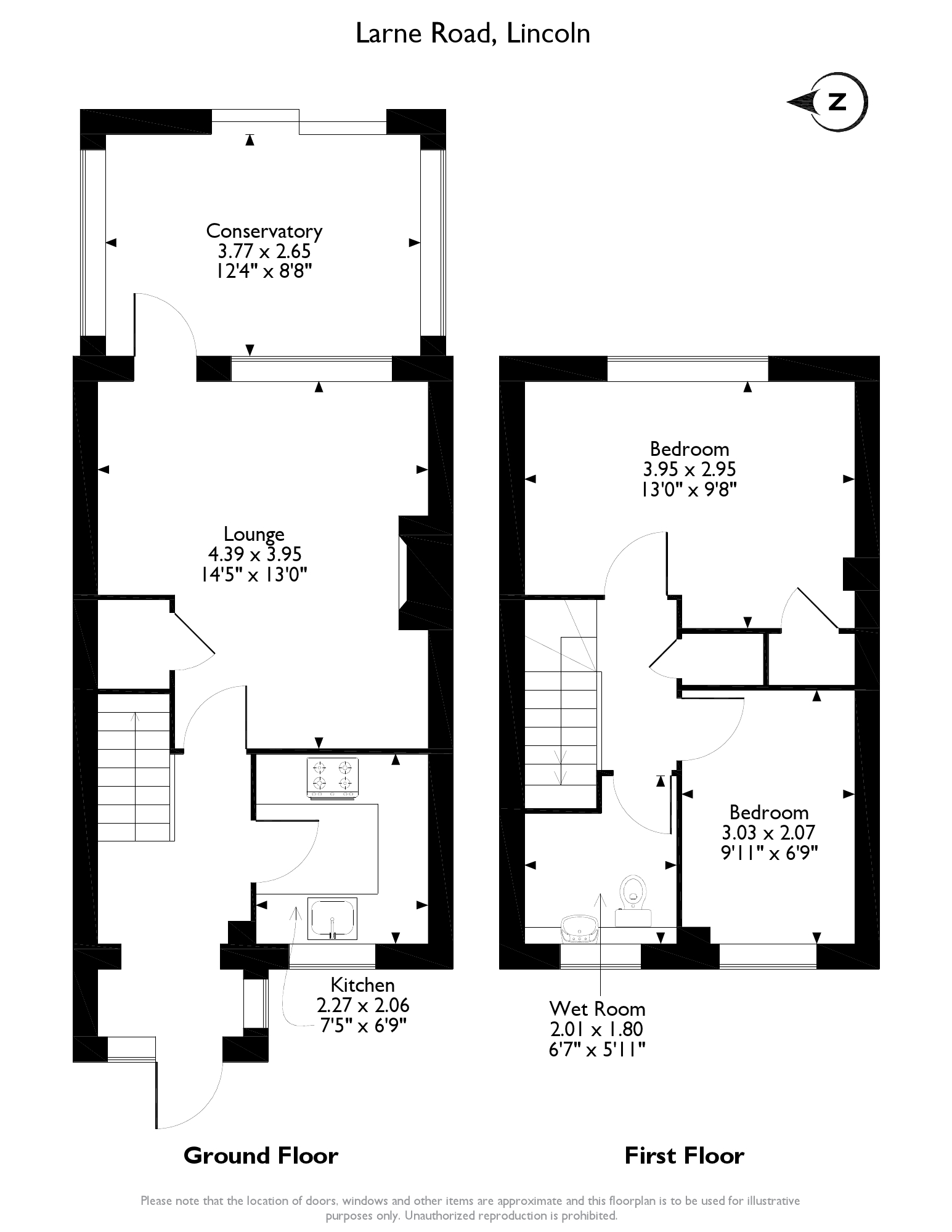 Larne Road, Lincoln, LN5 floor plan