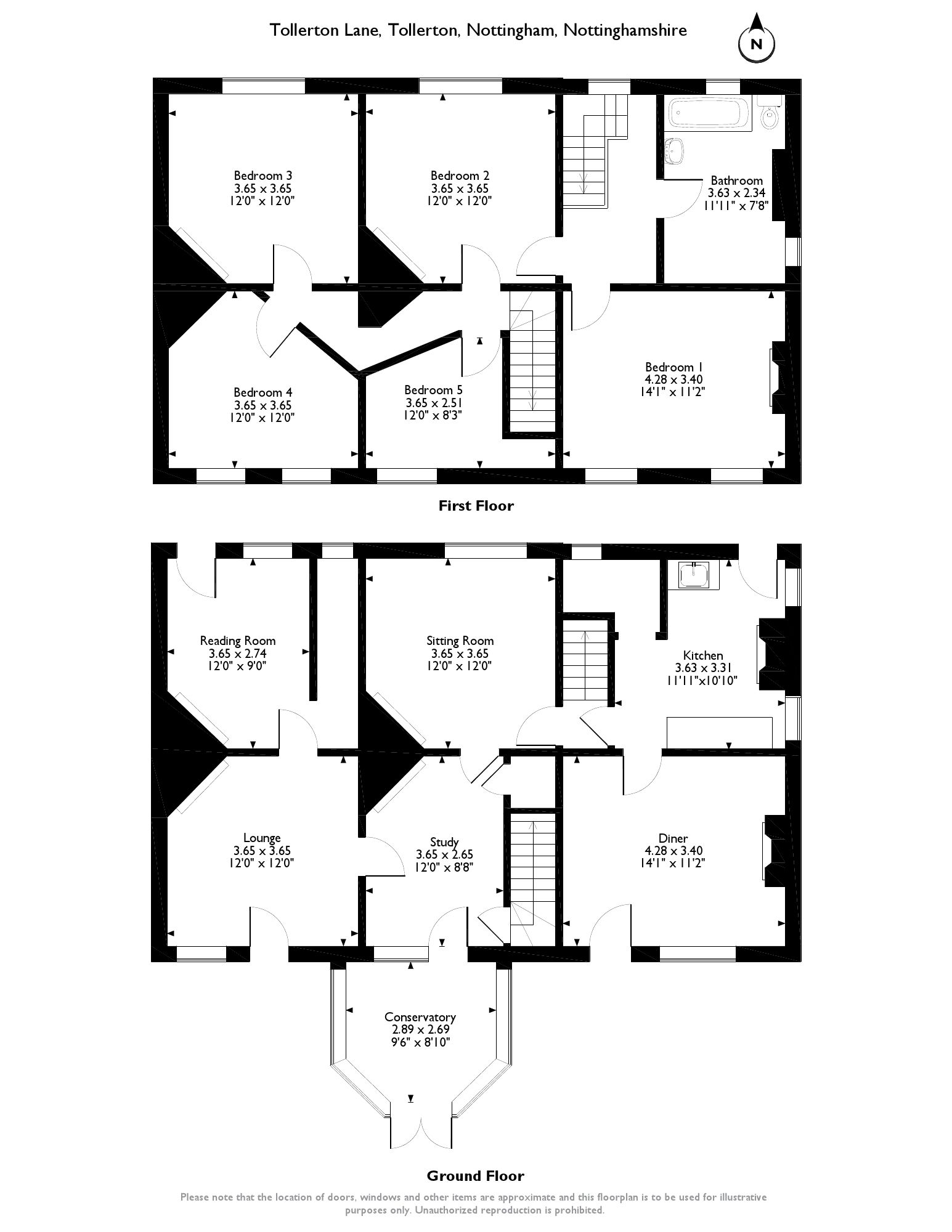 Tollerton Lane, Nottingham, NG12 floor plan