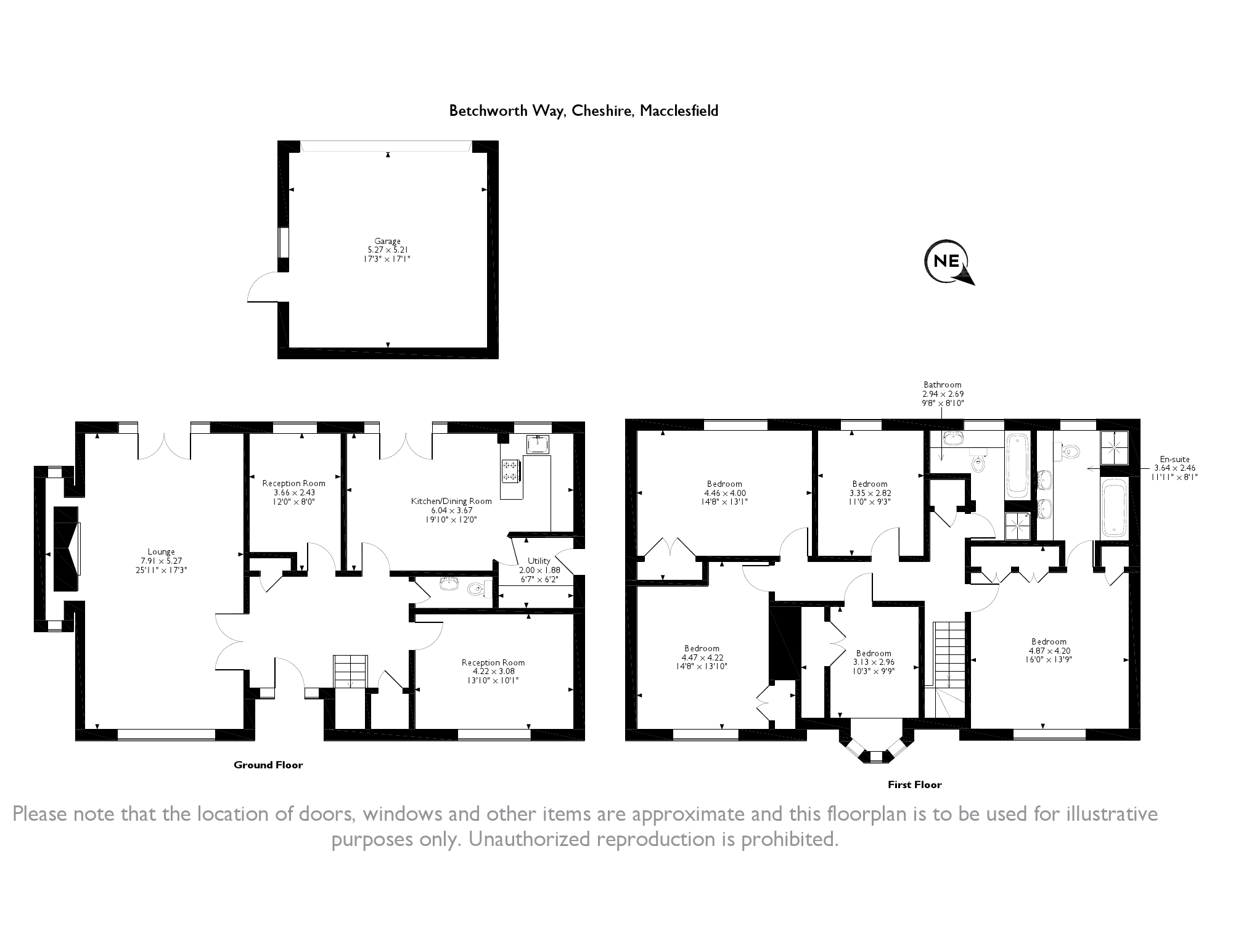 Macclesfield, Cheshire floor plan