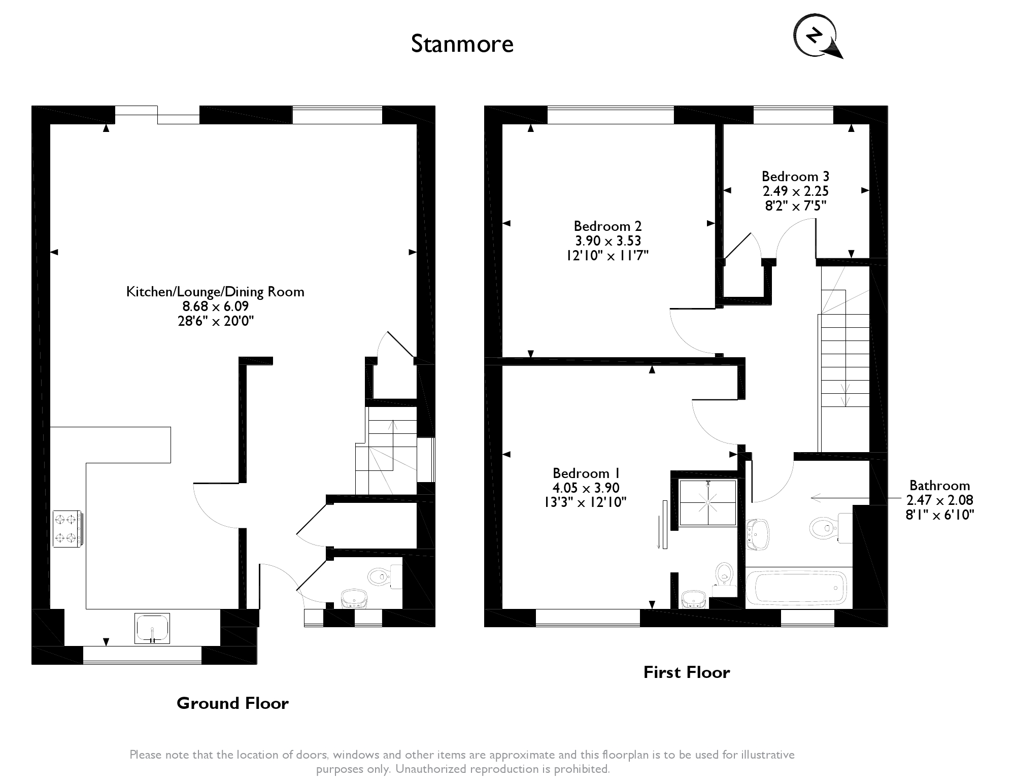 Wolverton Road Stanmore, HA7 floor plan