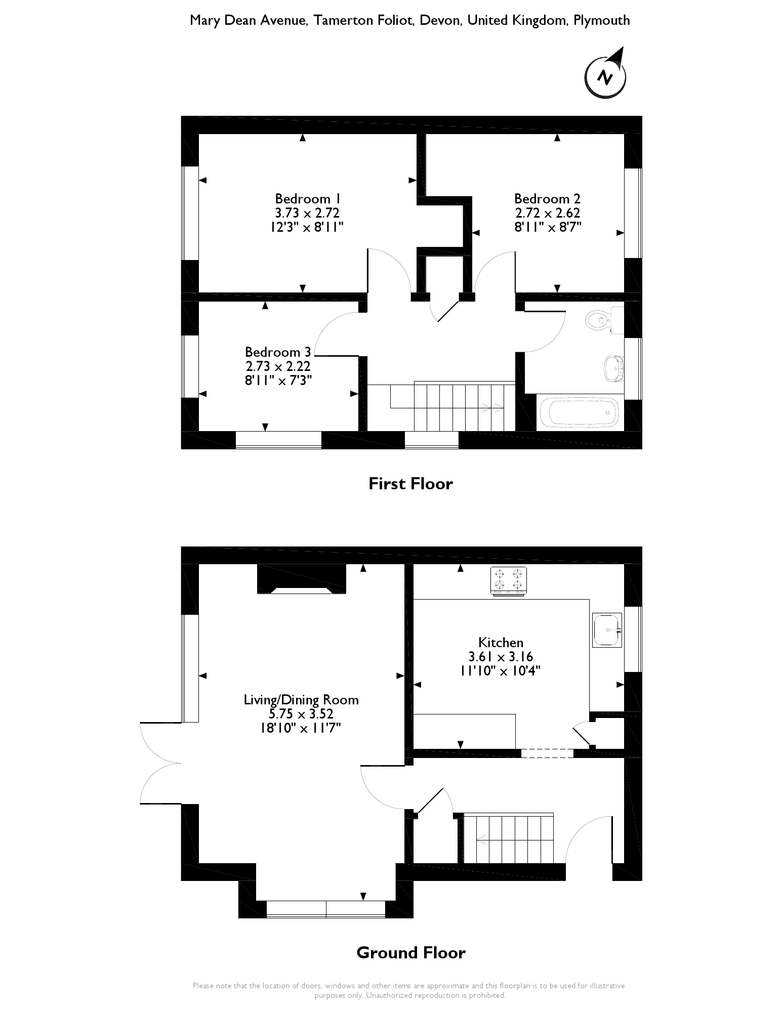 Mary Dean Avenue, Plymouth, PL5 floor plan