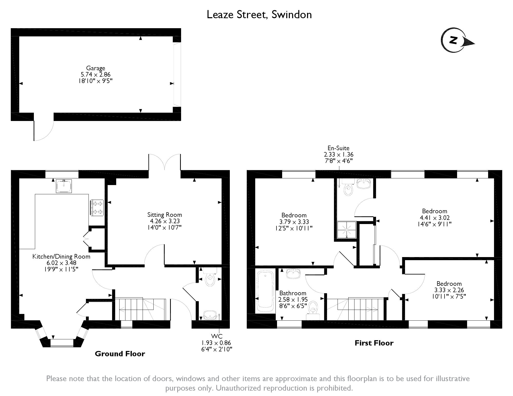 Leaze Street, Swindon, SN1 floor plan