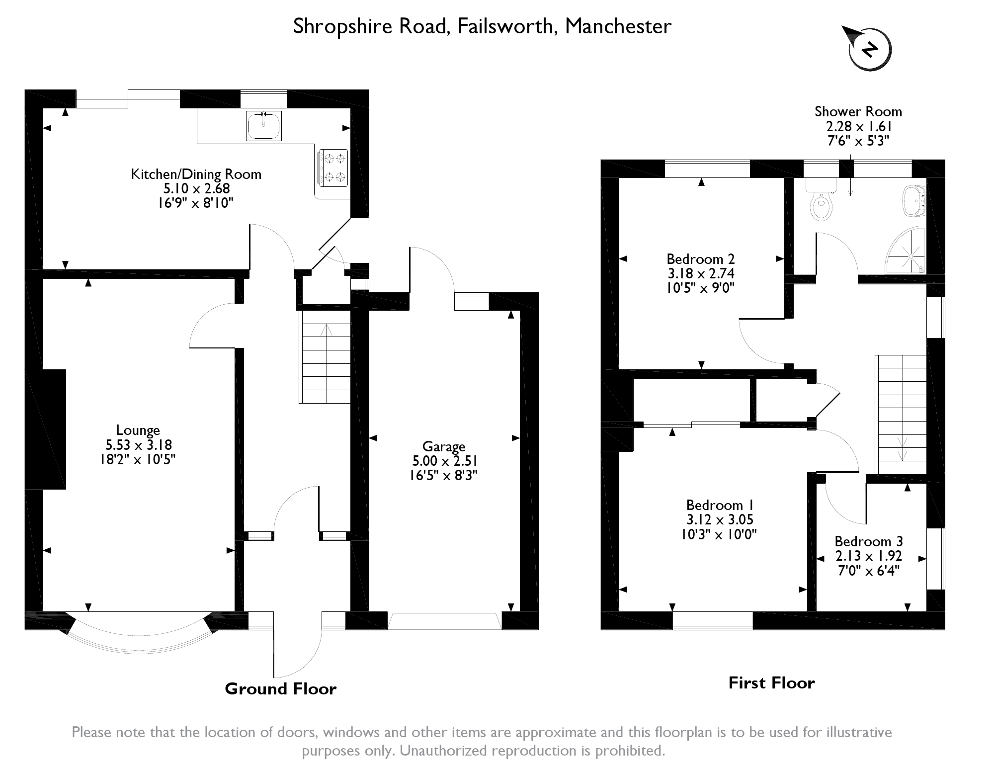 Shropshire Road,Failsworth Manchester,M35 floor plan