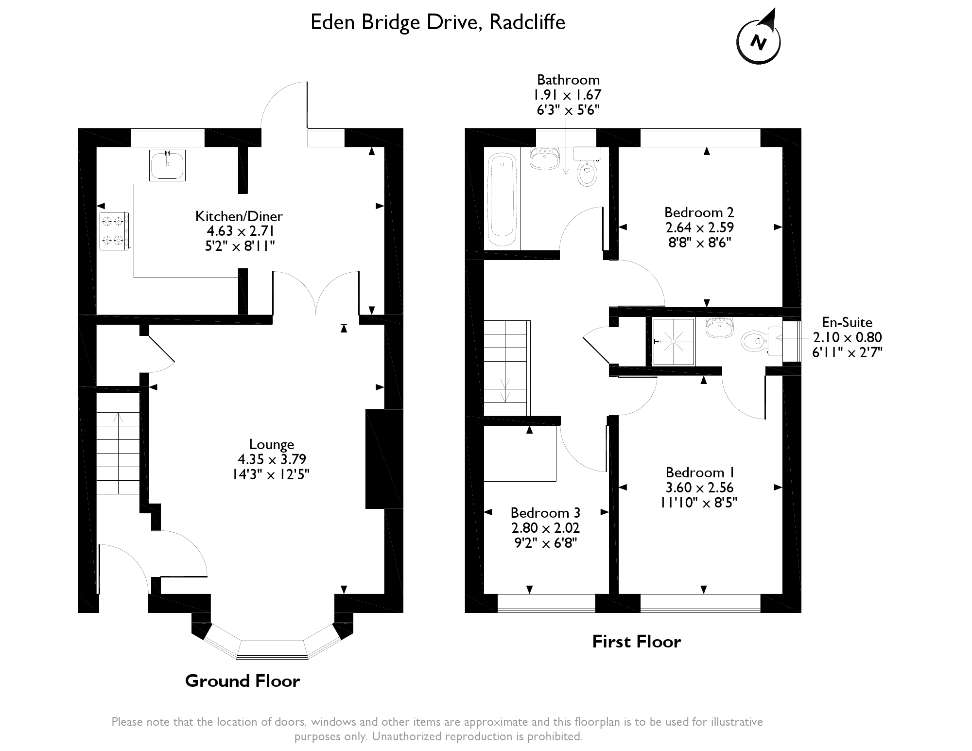 Eden Bridge Drive, Radcliffe, M26 floor plan
