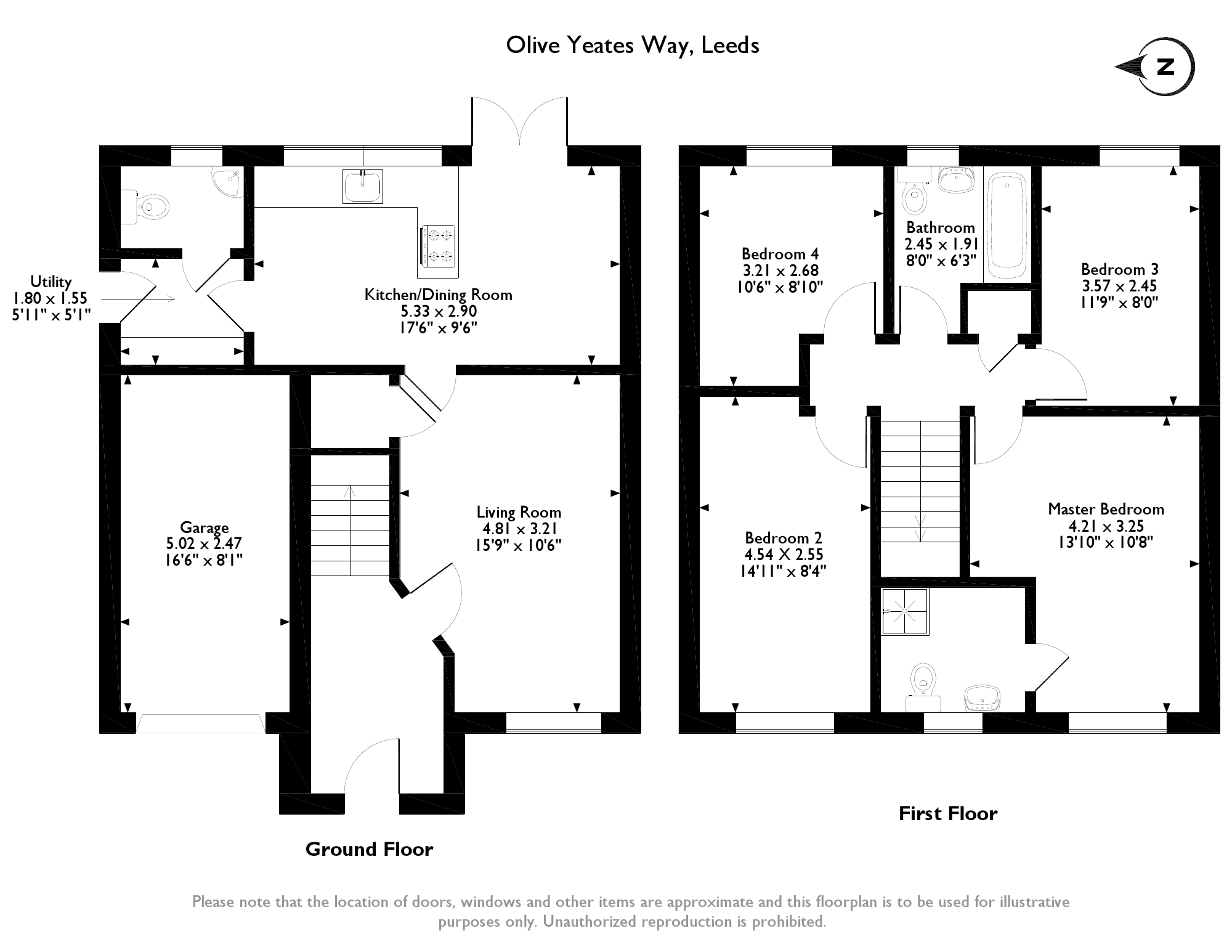 Olive Yeates Way, Leeds, LS15 floor plan