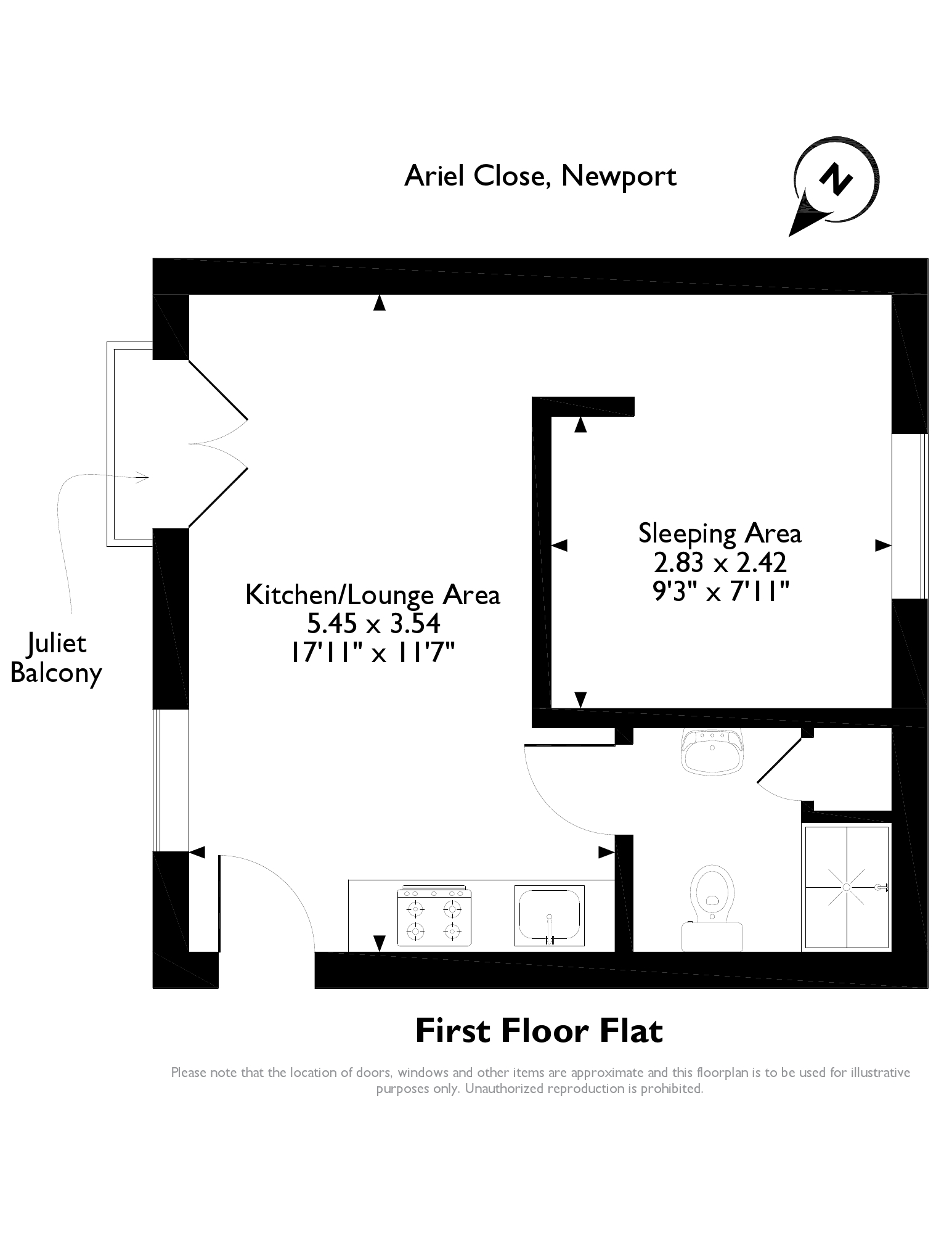 Ariel Close, Newport, NP20 floor plan