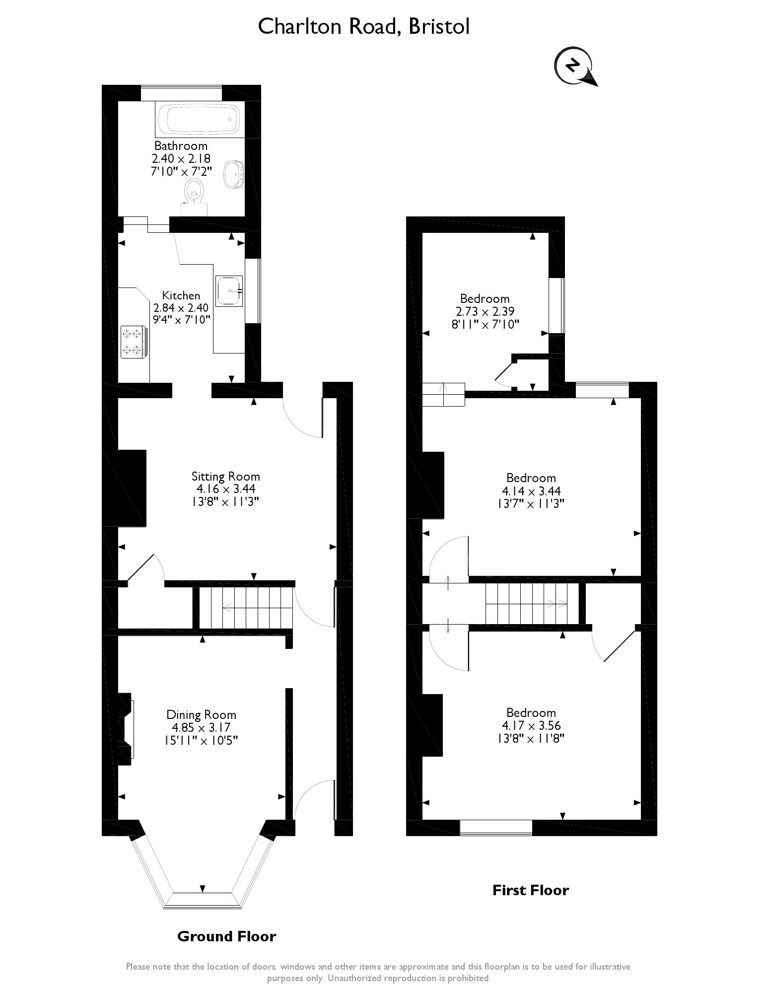 Charlton Road,Kingswood,Bristol, BS15 floor plan