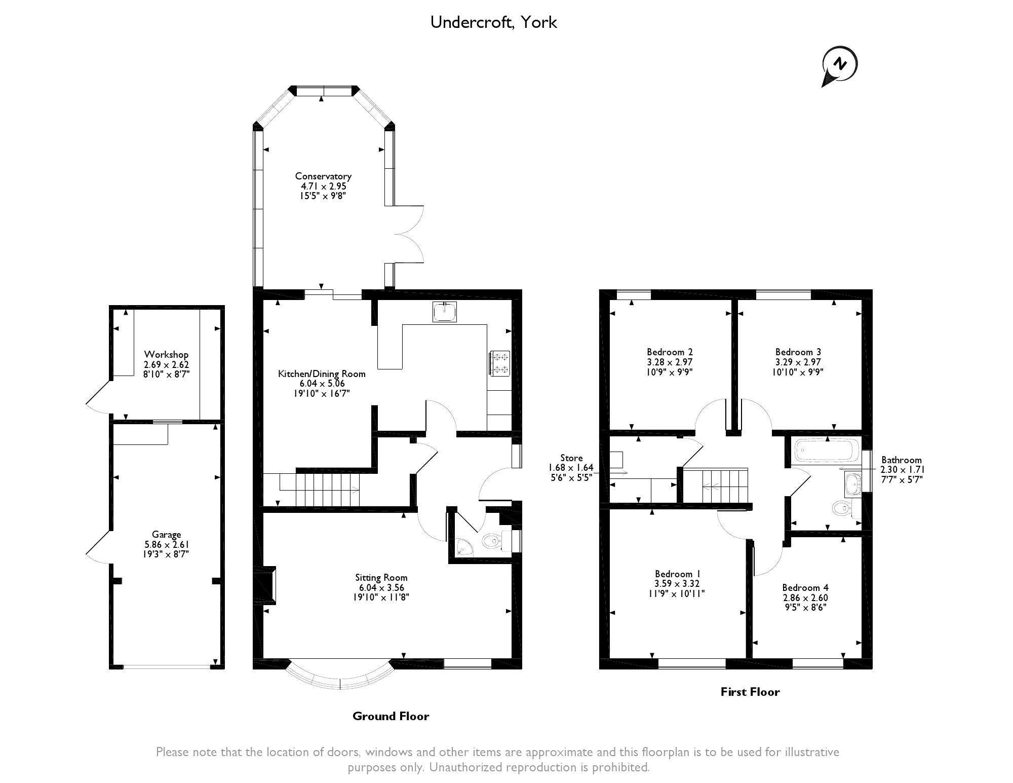 Undercroft, Dunnington, York, YO19 floor plan