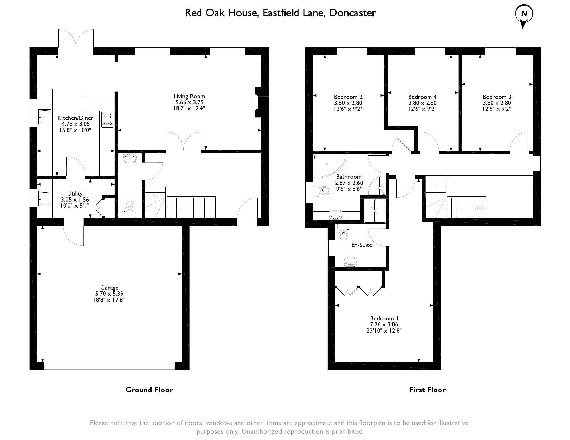 Eastfield Lane, Doncaster, DN9 floor plan