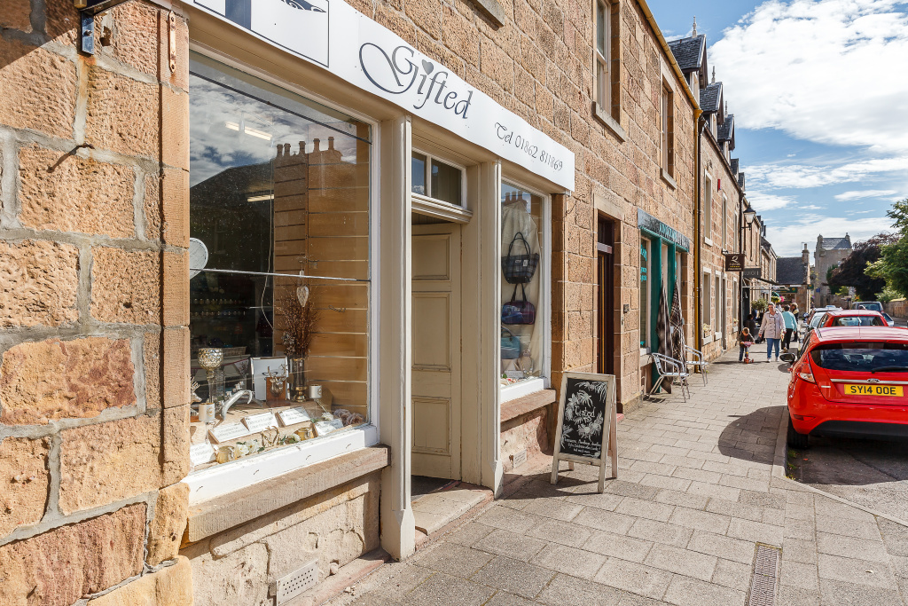 Gifted, Castle Street, Dornoch, IV25