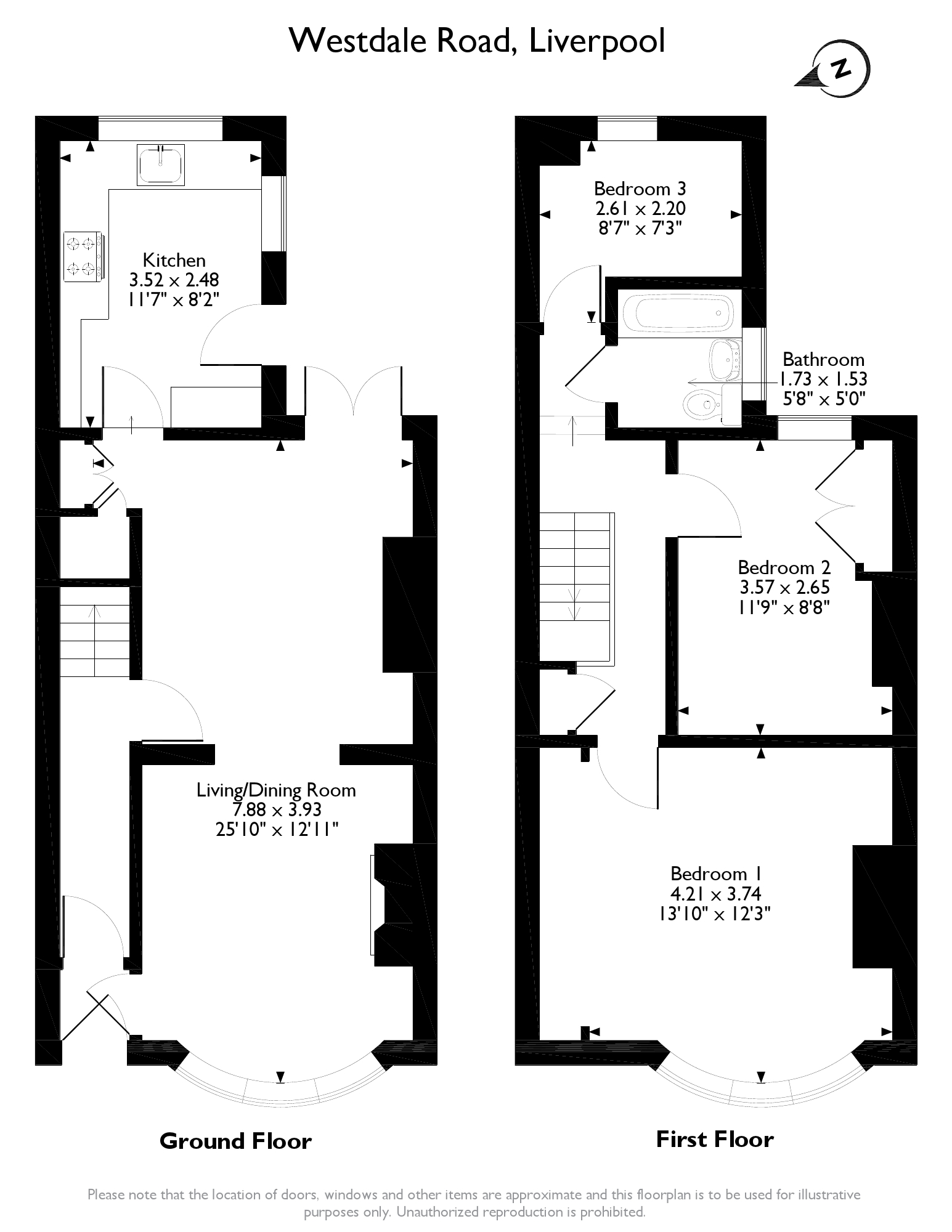 Westdale Road Liverpool, L15 floor plan