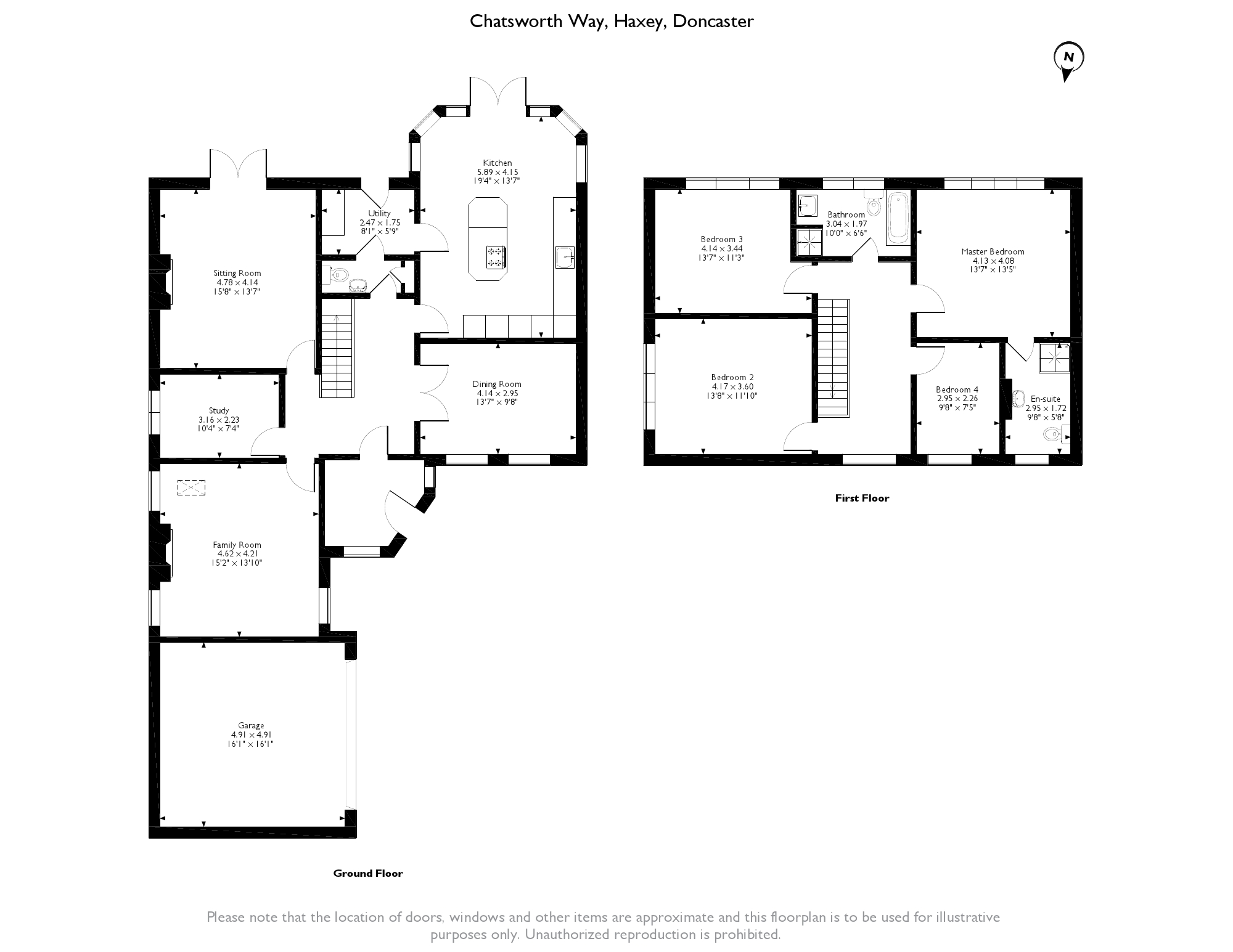 Chatsworth Way, Doncaster, DN9 floor plan