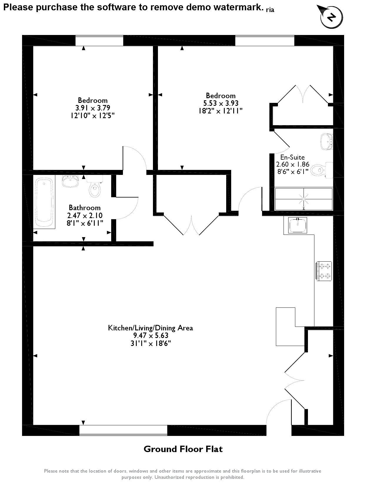 Waterside House, Denton Mill Close, Carlisle, CA2 floor plan