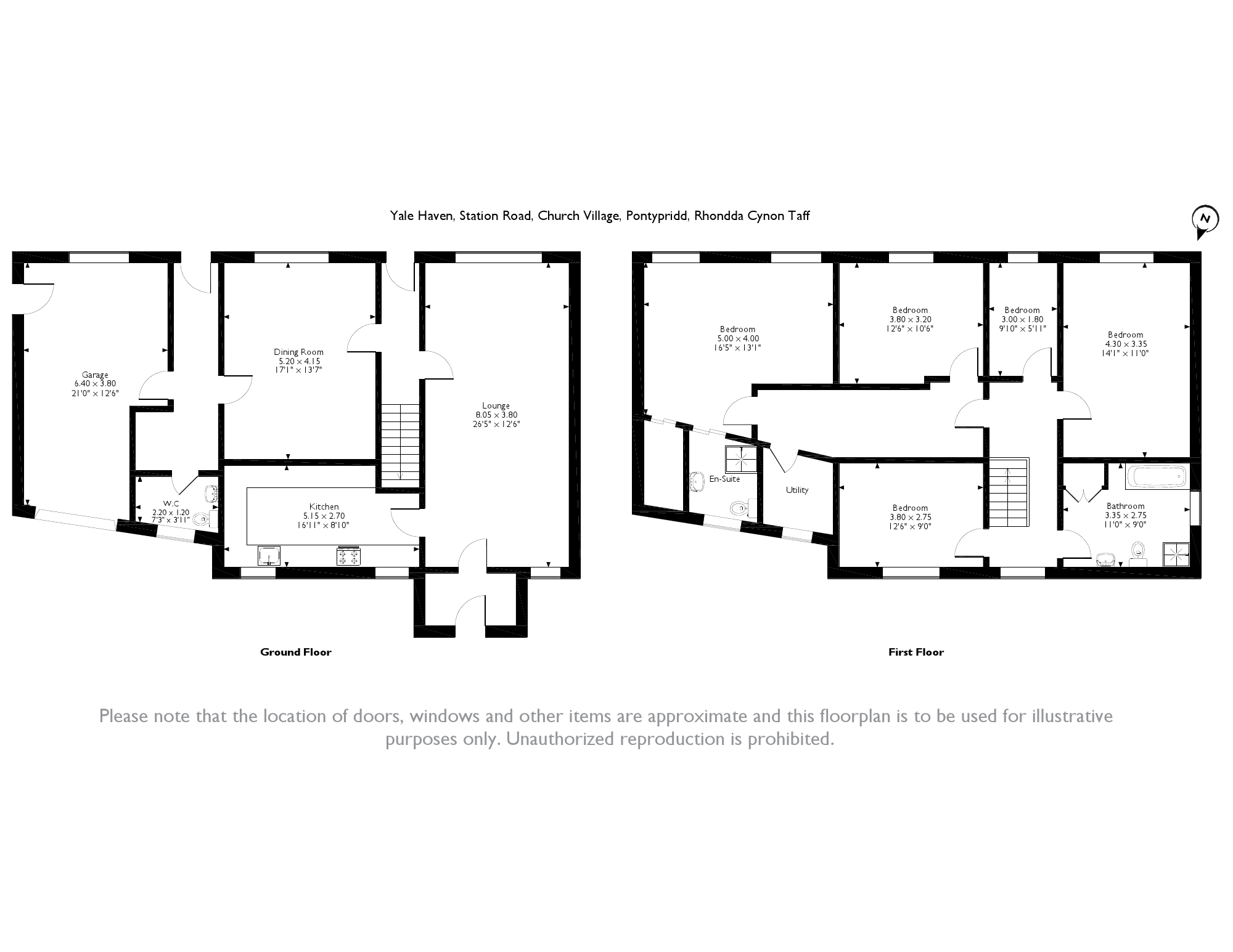 Station Road, Church Village, CF38 floor plan