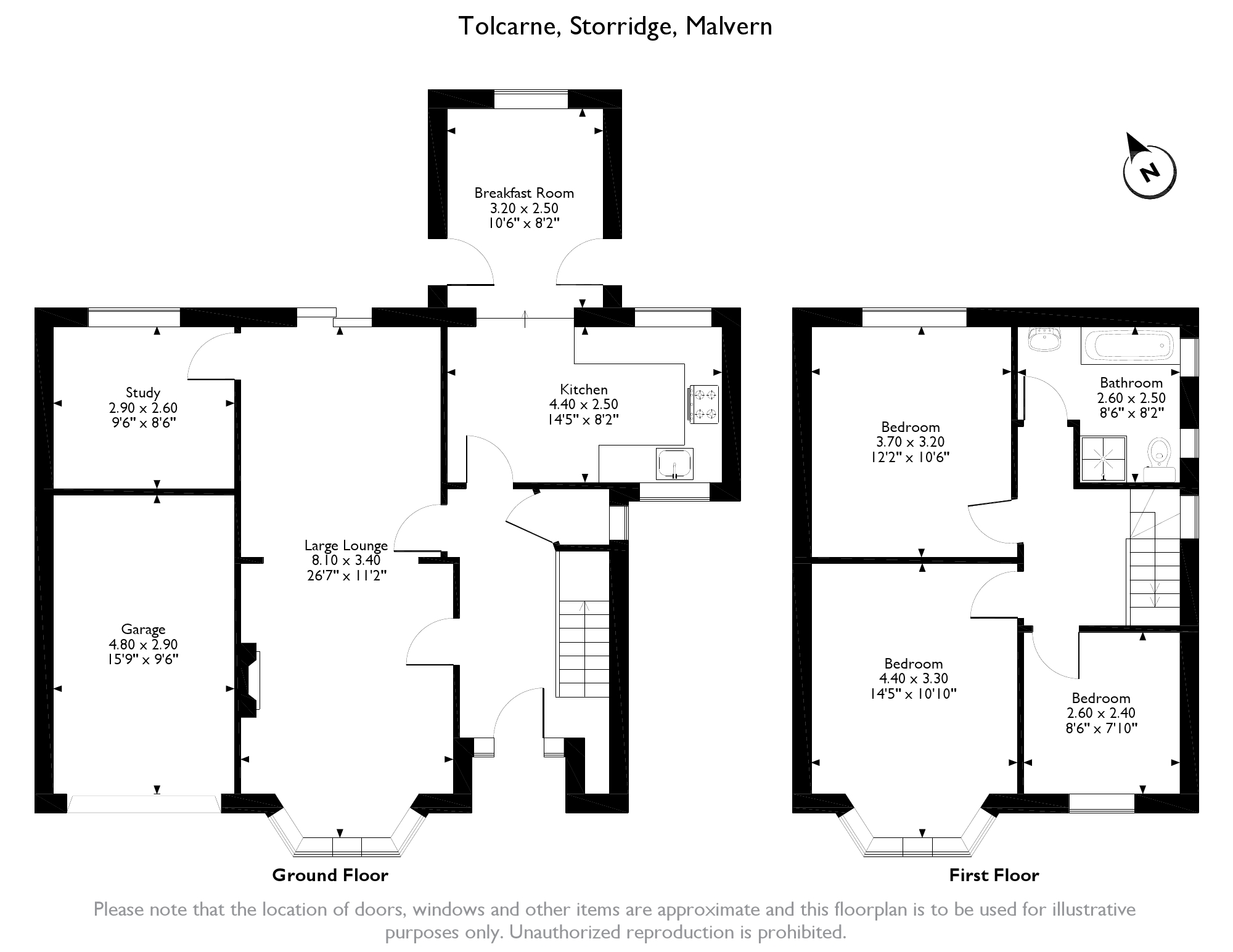 Storridge, Malvern, WR13 floor plan
