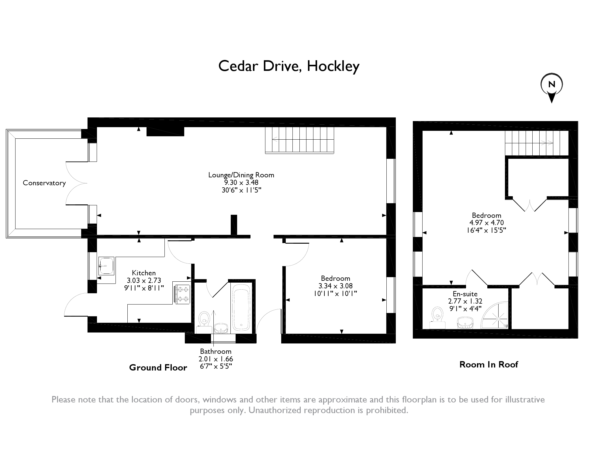 Cedar Drive, Hockley, SS5 floor plan