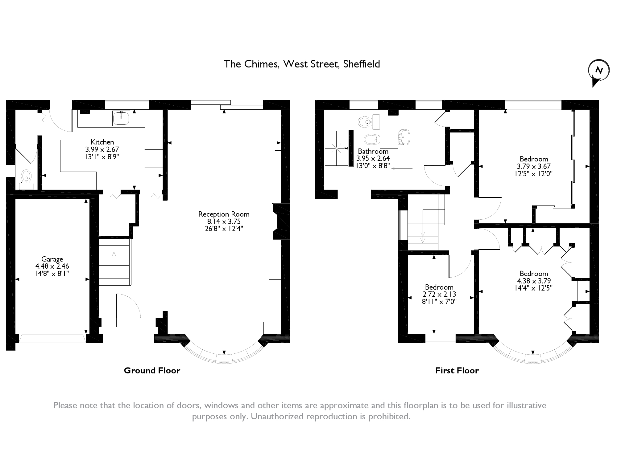 West Street, Sheffield, S21 floor plan