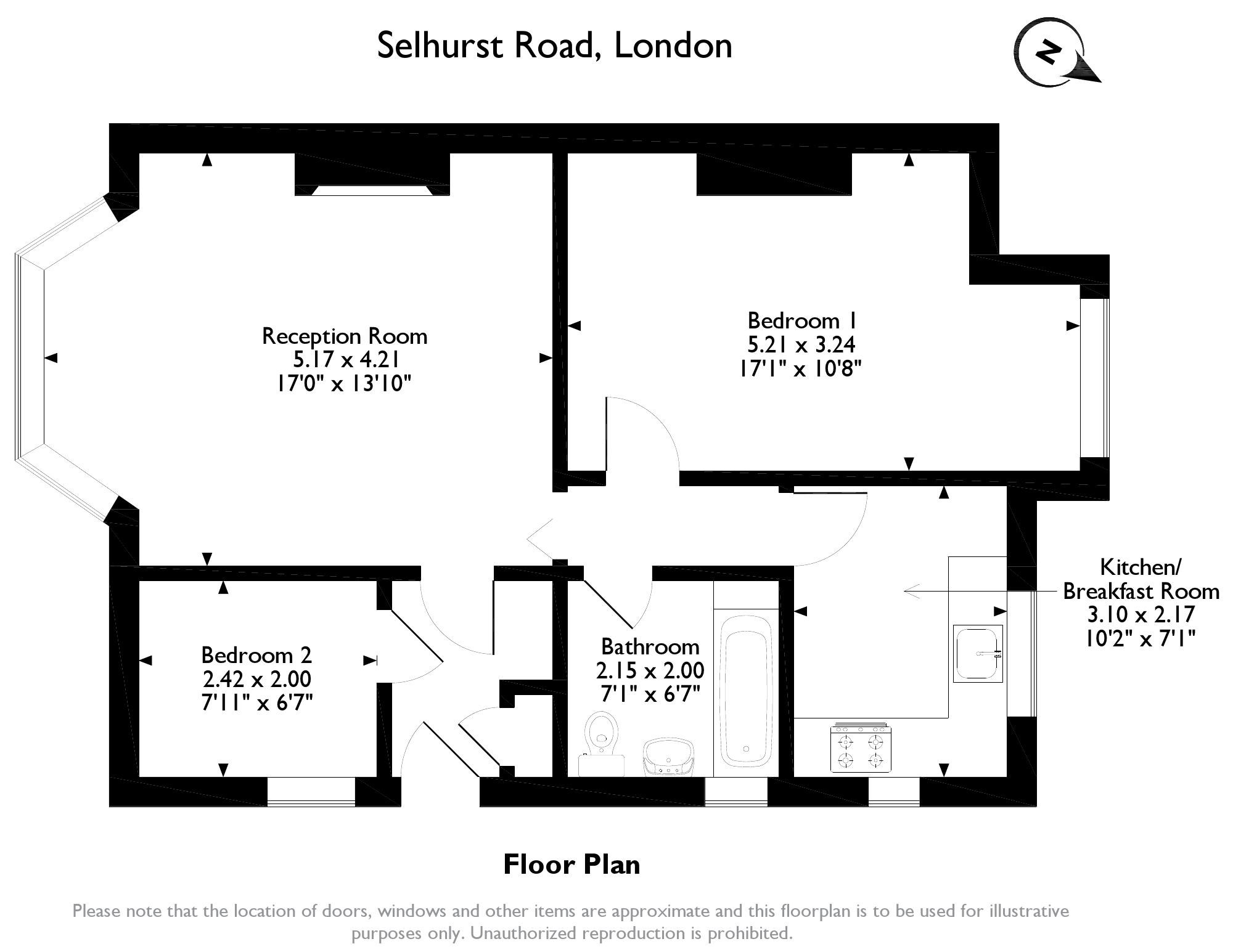 Selhurst Road, London, SE25 floor plan