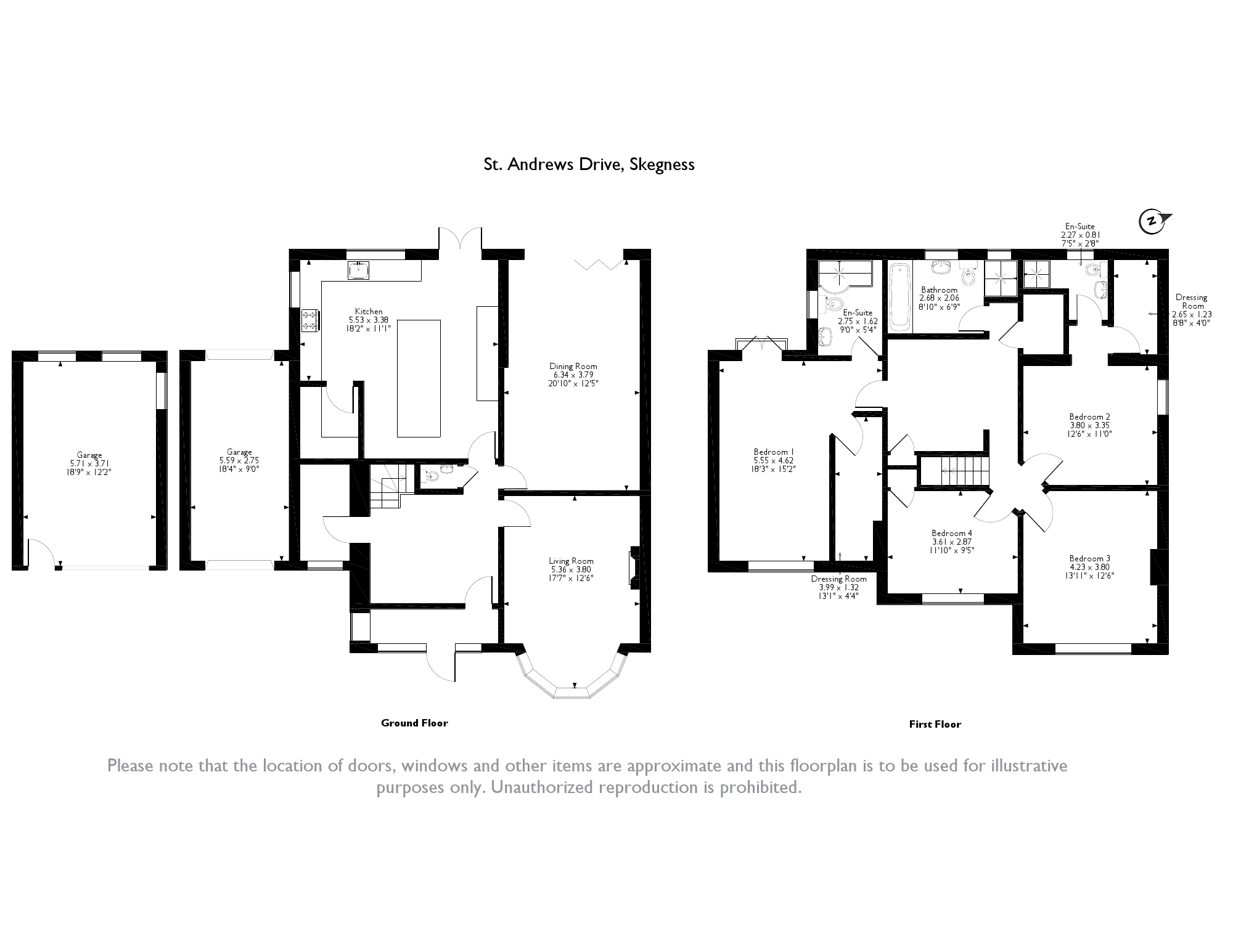 St. Andrews Drive, Skegness, floor plan