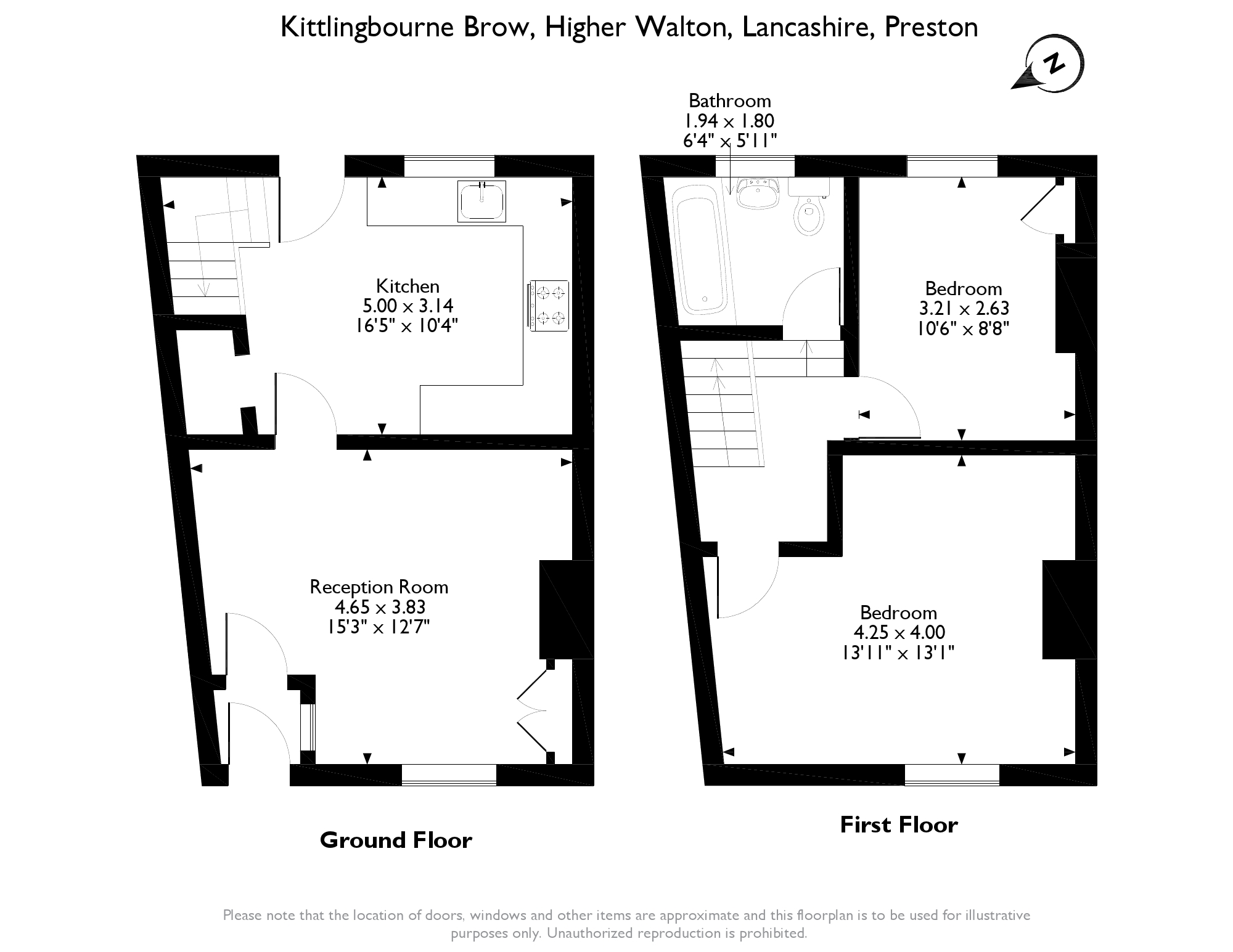 Kittlingbourne Brow,Higher Walton,Preston,PR5 floor plan