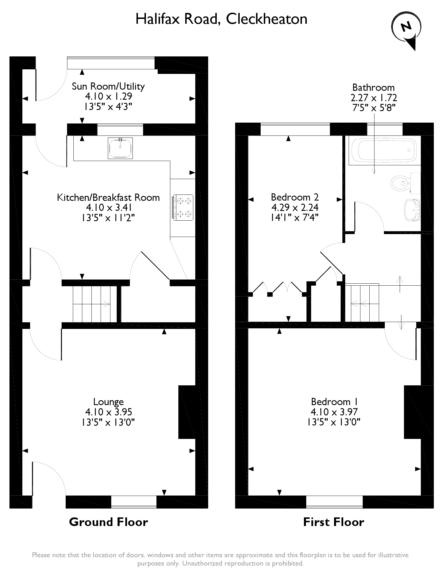 Halifax Road, Cleckheaton, BD19 floor plan
