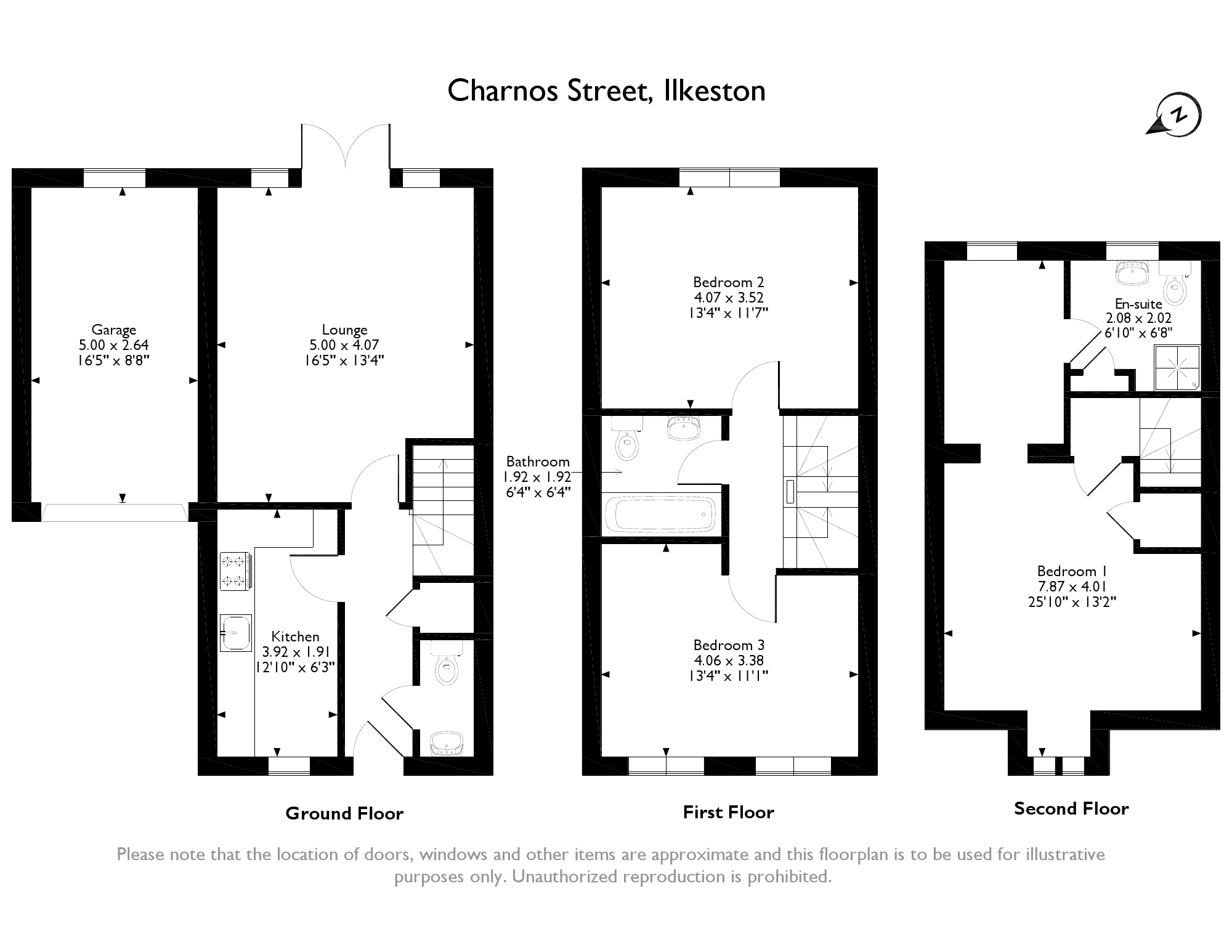 Ilkeston, Derbyshire floor plan