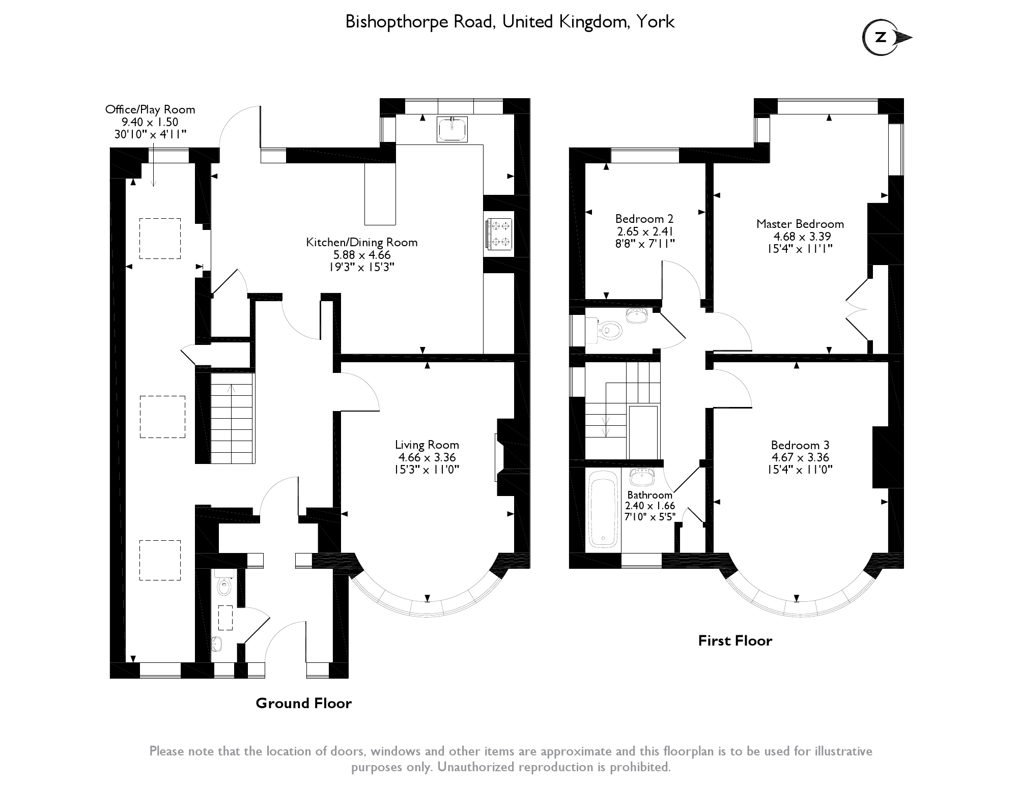 Bishopthorpe Road, York, YO23 floor plan
