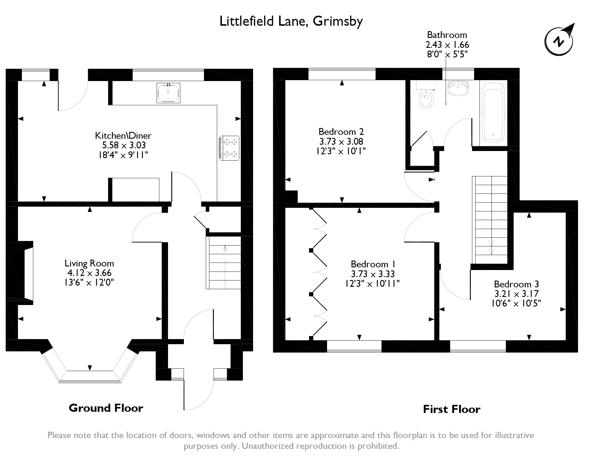 Littlefield Lane, Grimsby, DN34 floor plan