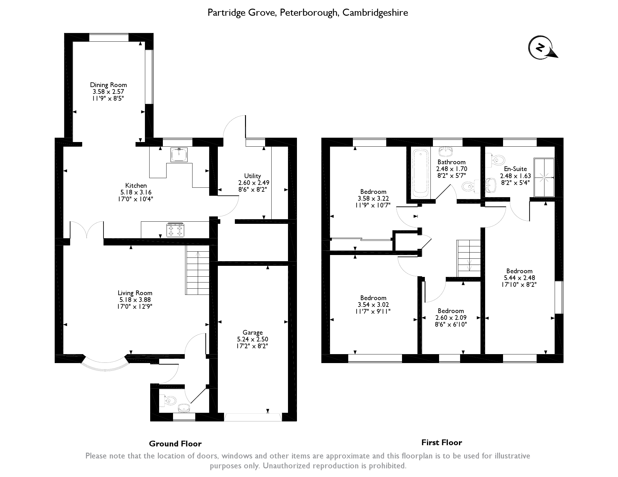 Partridge Grove, Peterborough floor plan