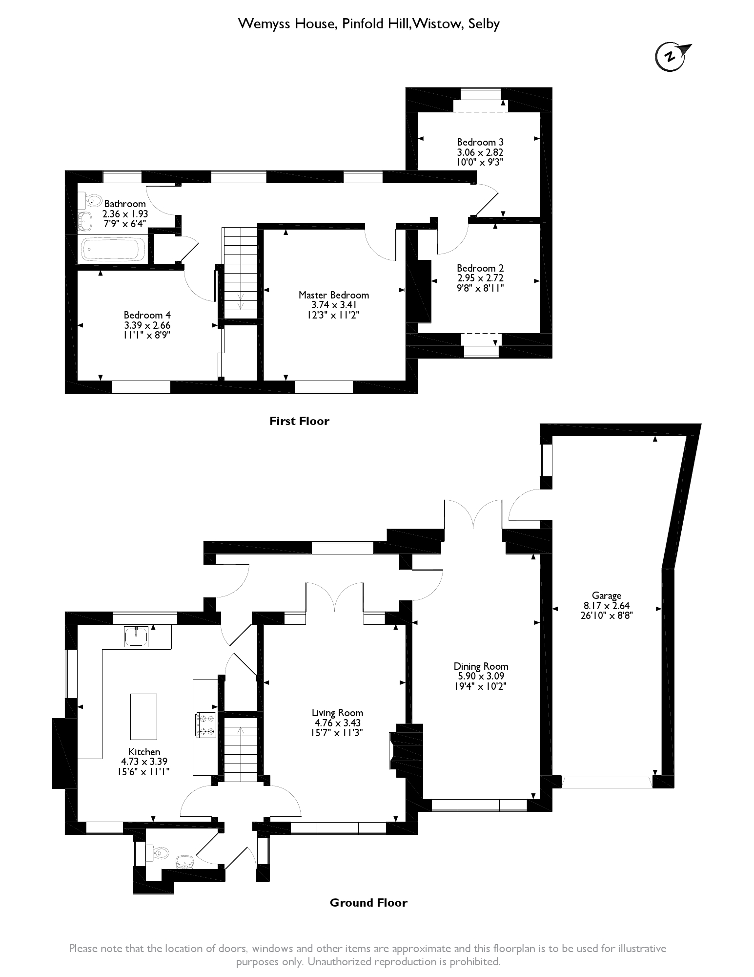 Selby, North Yorkshire floor plan