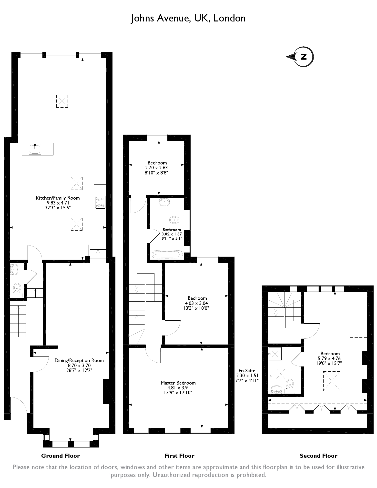 Johns Avenue, London, NW4 floor plan