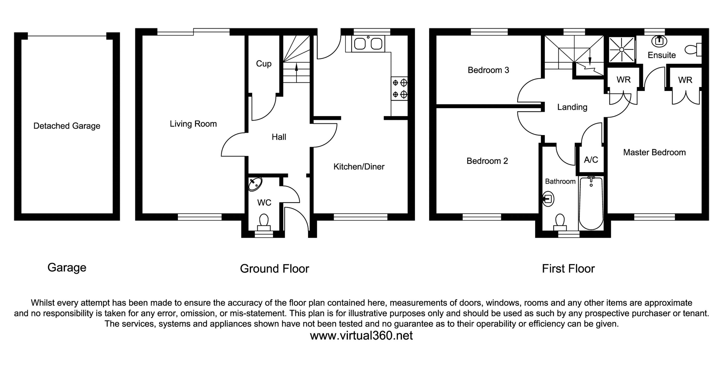 Kissing Batch, Frome floor plan
