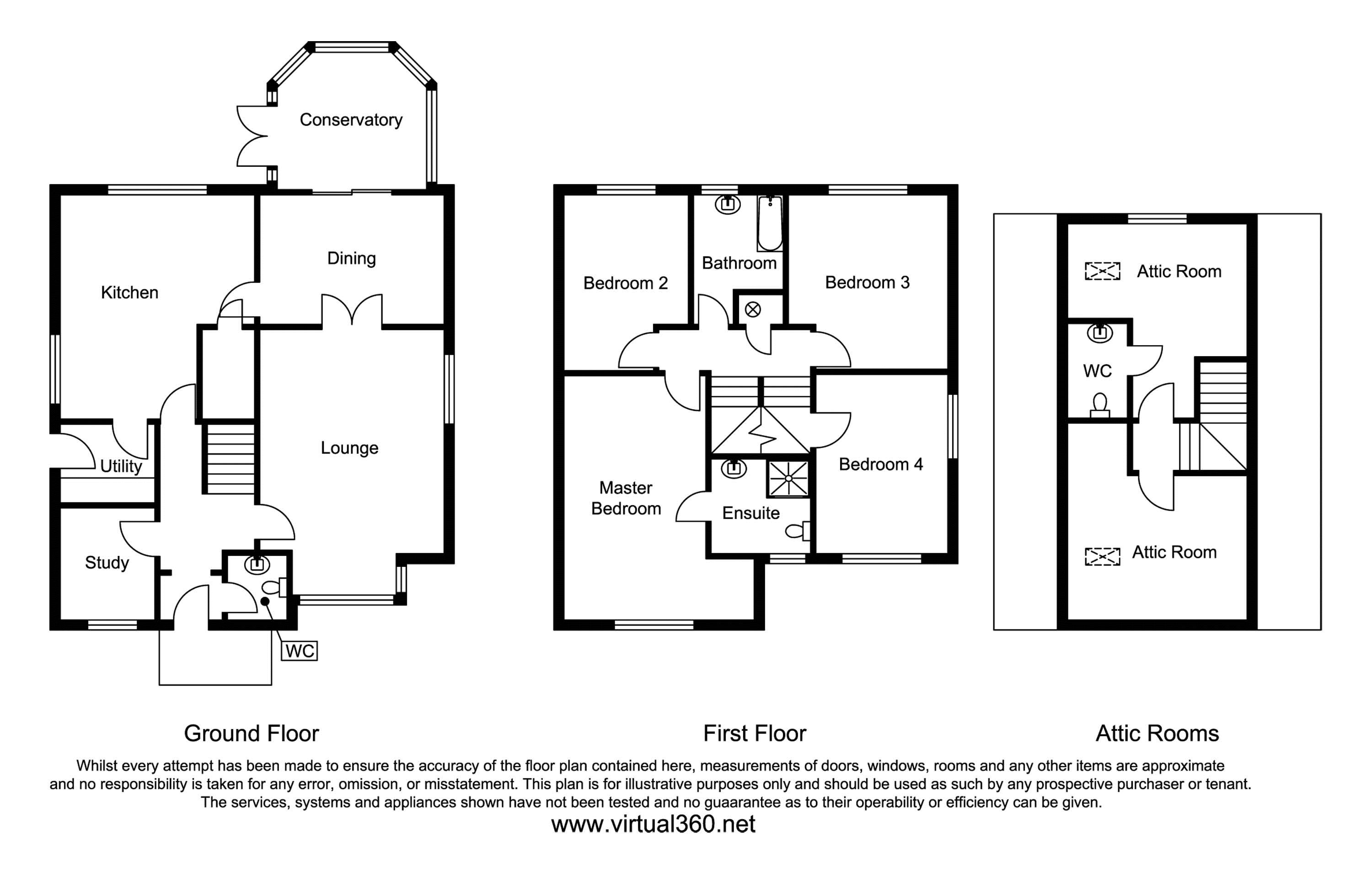 Abbey Fields, Crewe, CW2 floor plan