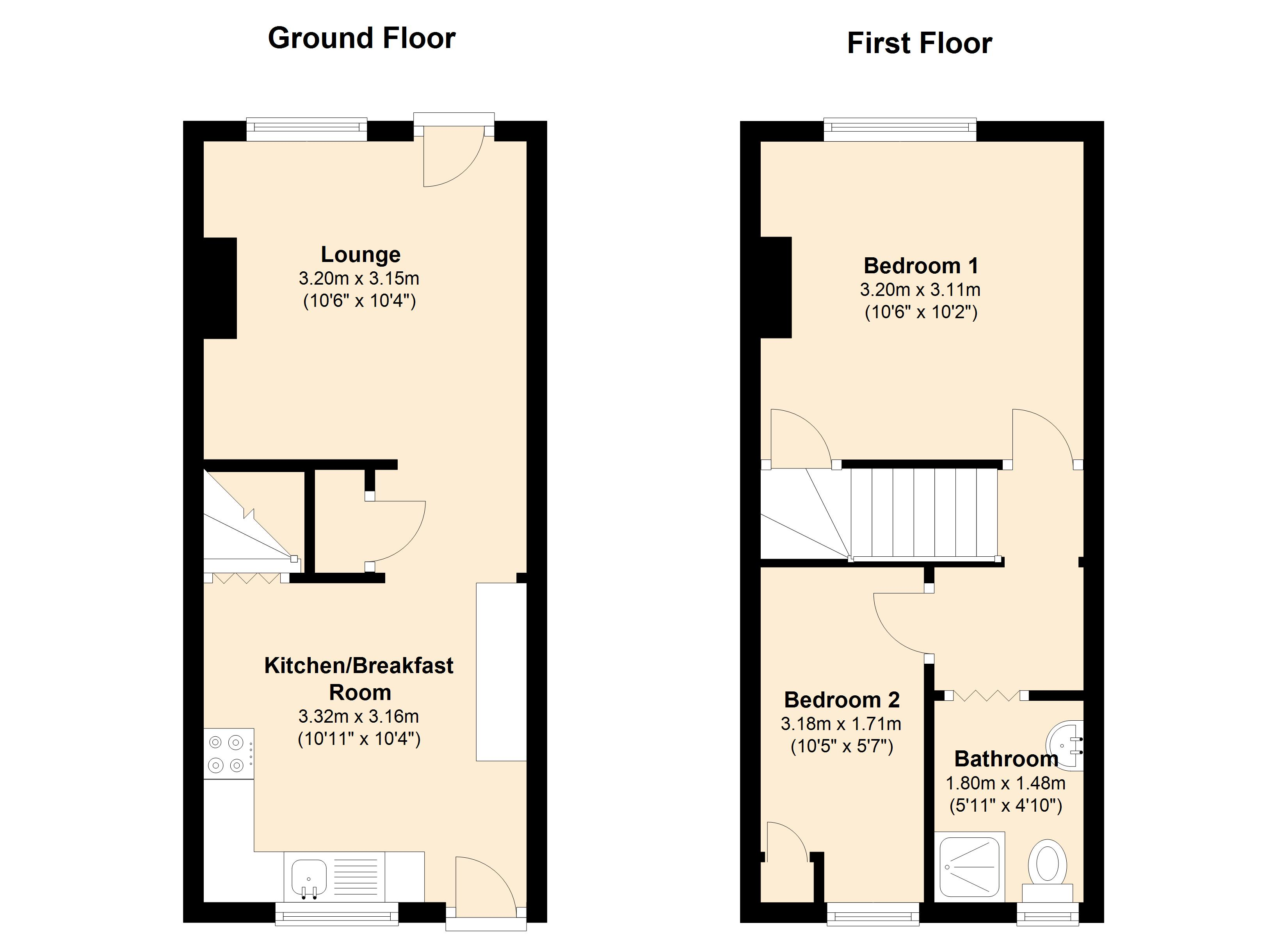 Loughborough Road, Mountsorrel , LE12 floor plan