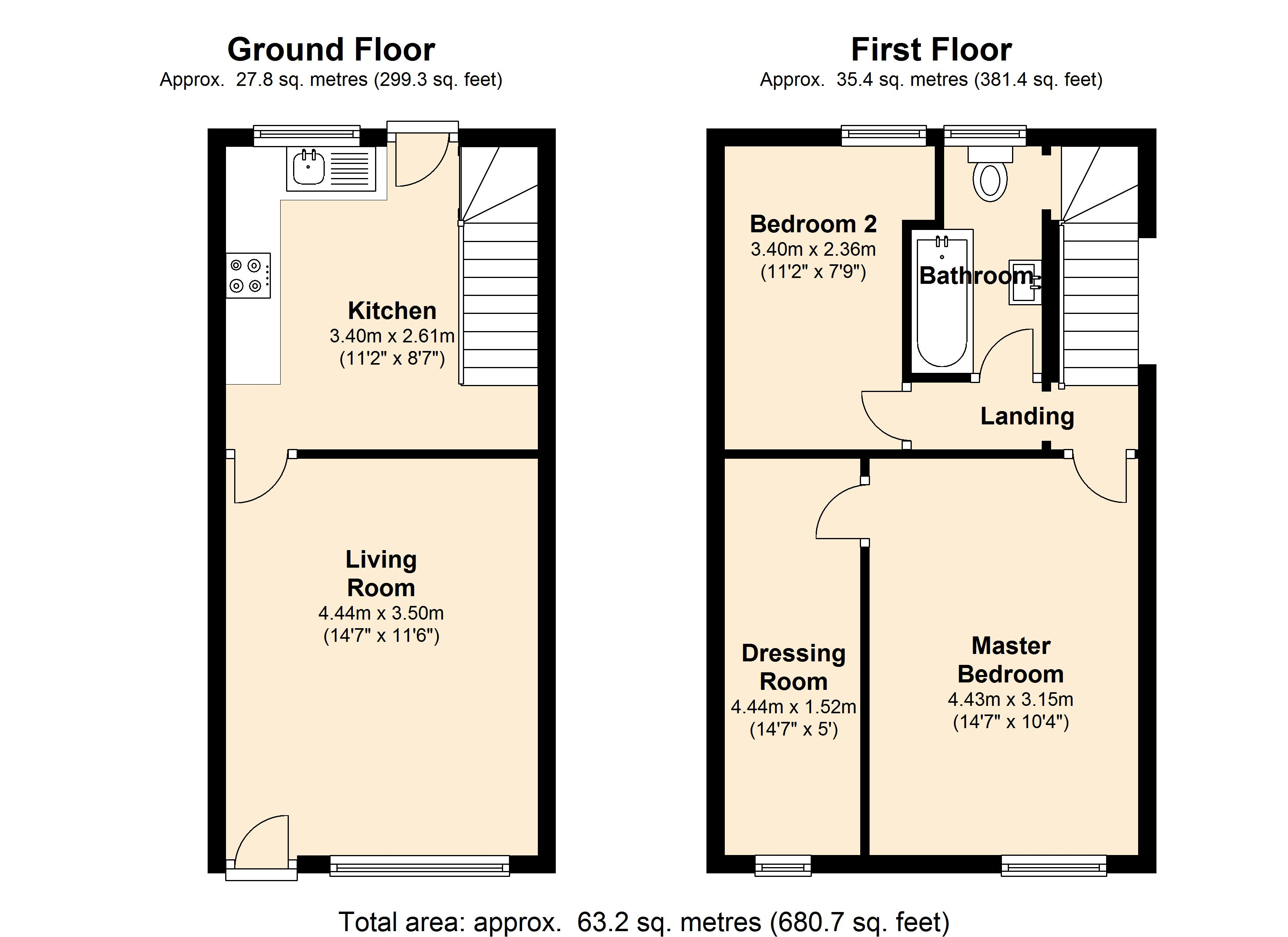 Cartmell Road, Sheffield, S8 floor plan