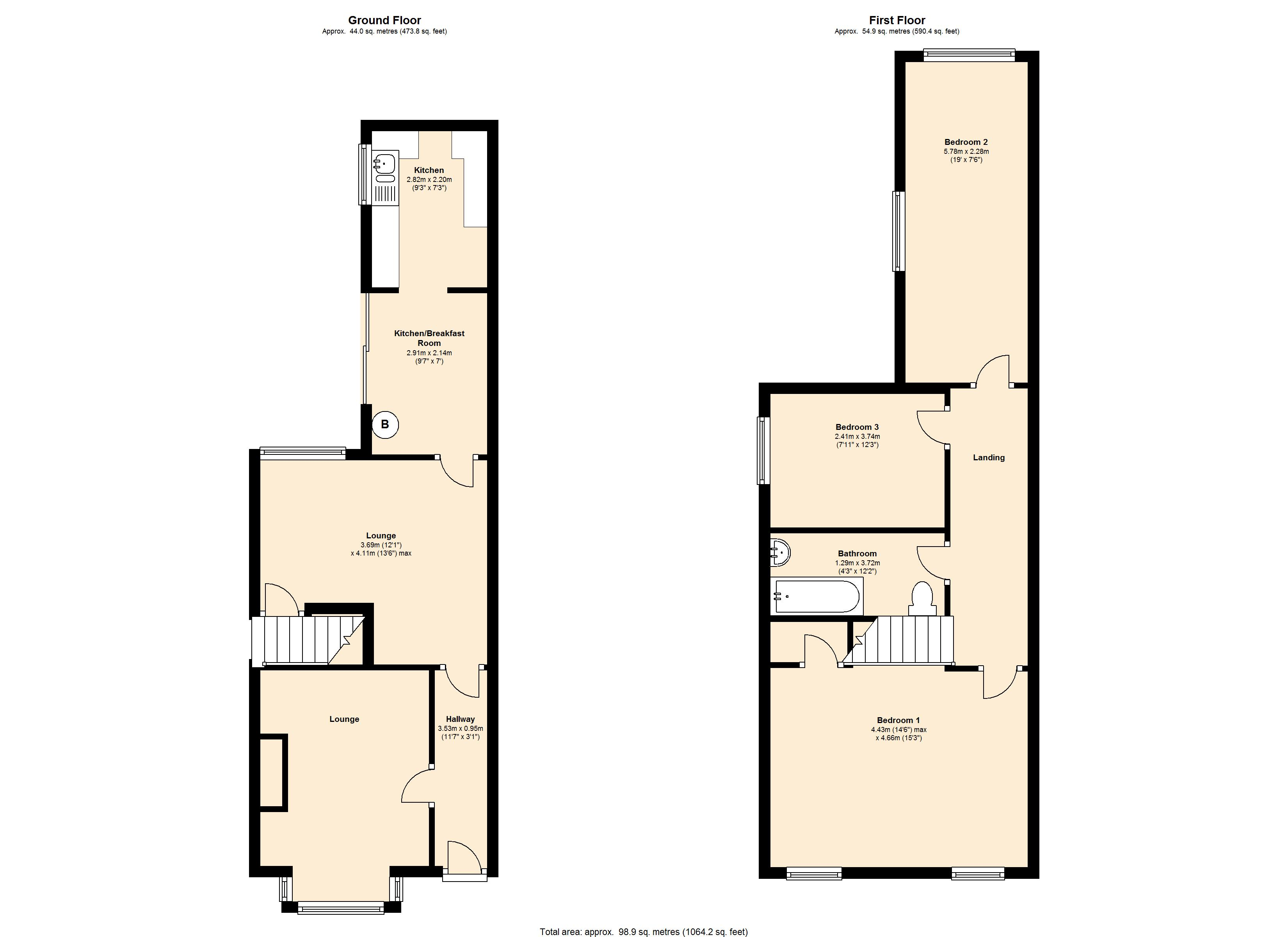 Coventry Road, Small Heath Birmingham B10 floor plan